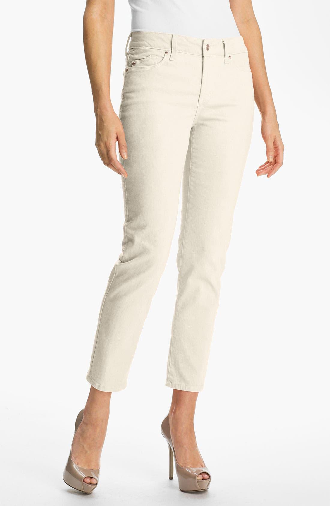 Alternate Image 1 Selected - NYDJ 'Alisha' Skinny Stretch Ankle Jeans (Regular & Petite)