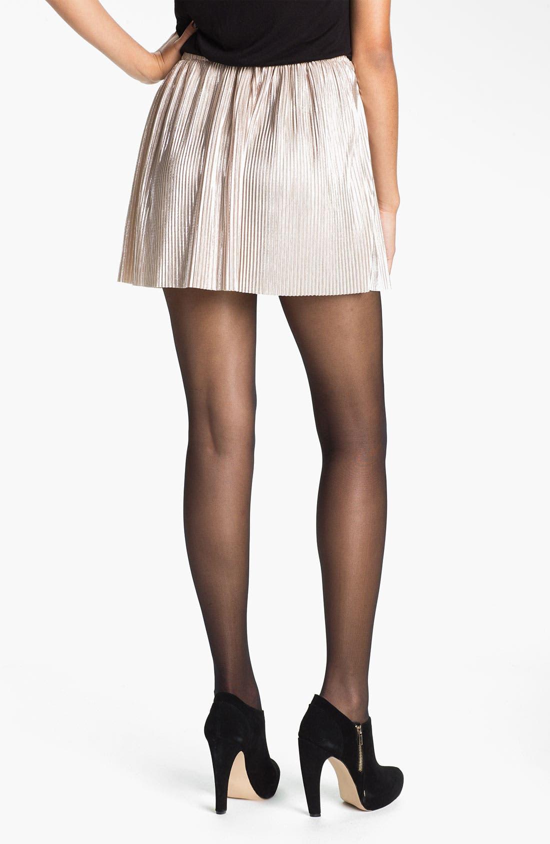 Alternate Image 2  - h.i.p. 'Liquid' Skirt (Juniors)