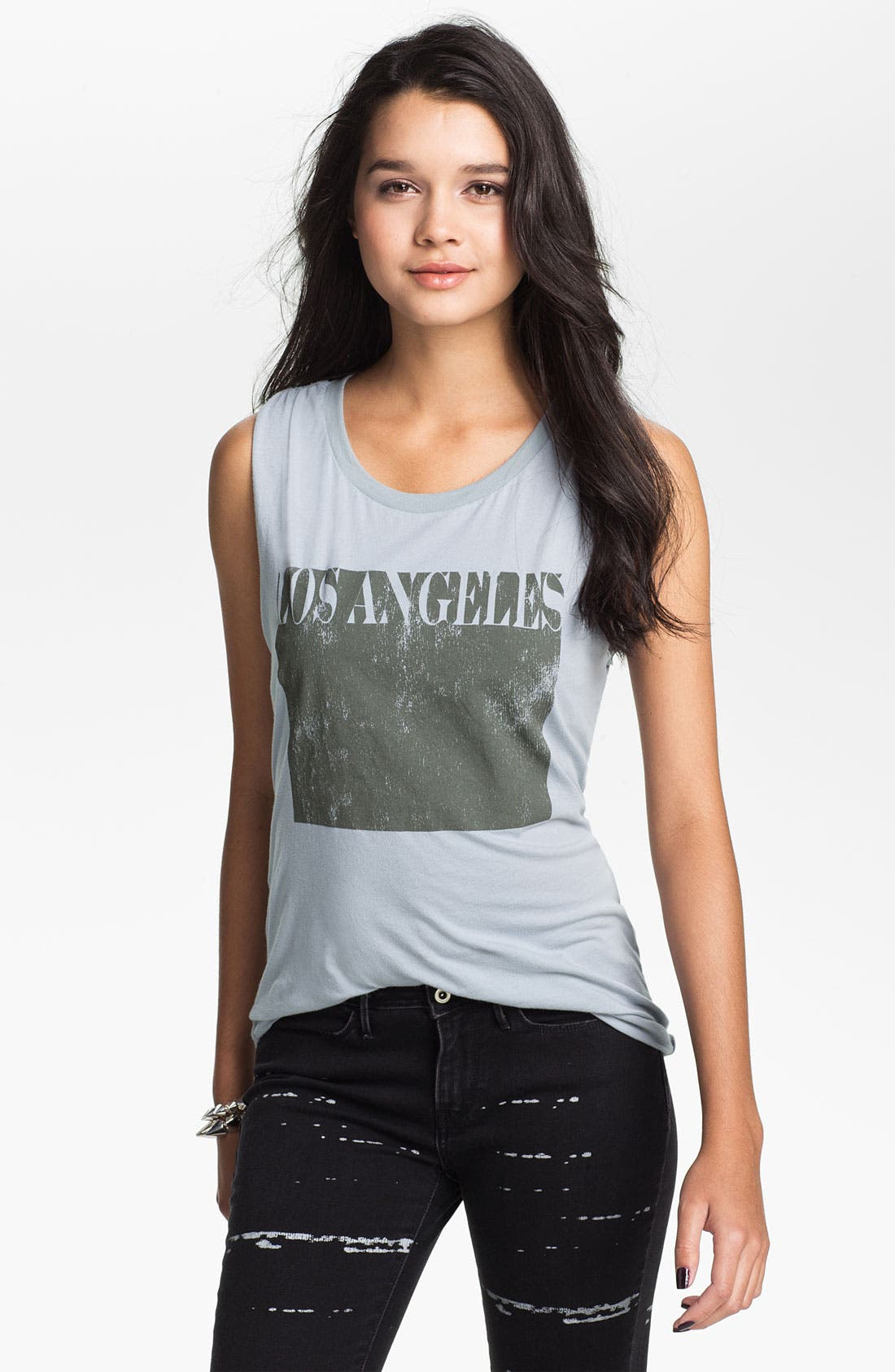 Alternate Image 1 Selected - Project Social T 'Los Angeles' Graphic Tank (Juniors)