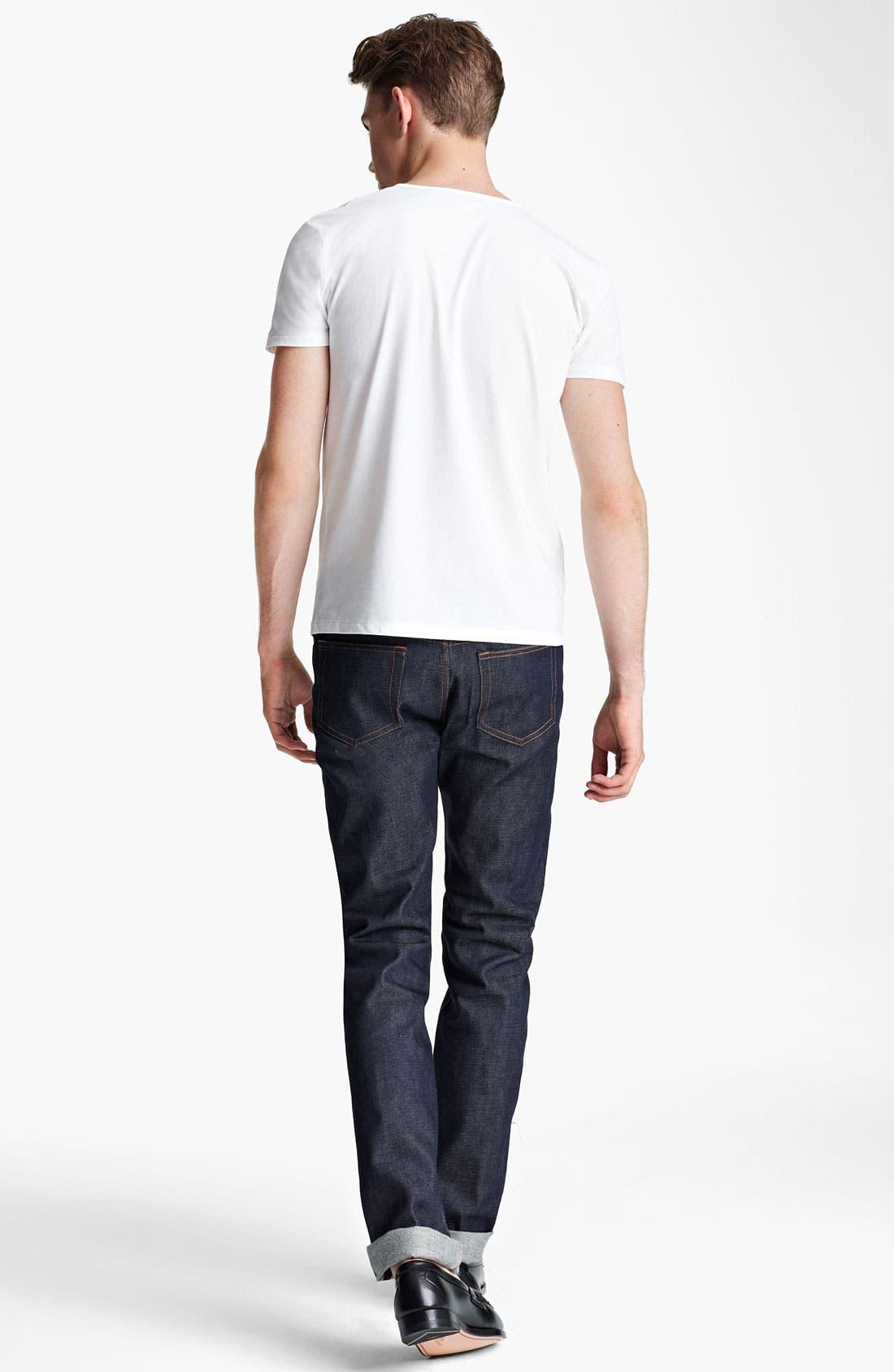 Alternate Image 5  - A.P.C. Henley T-Shirt