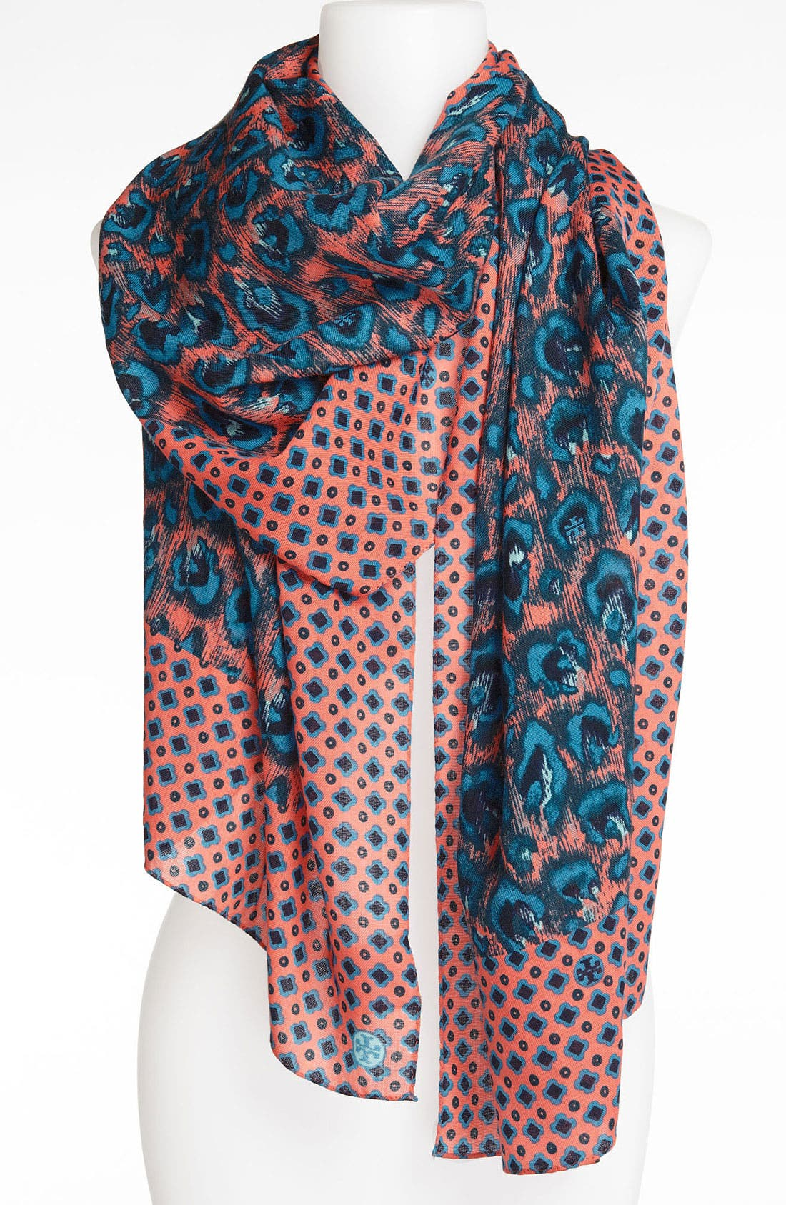Alternate Image 1 Selected - Tory Burch 'Wray' Wool Scarf