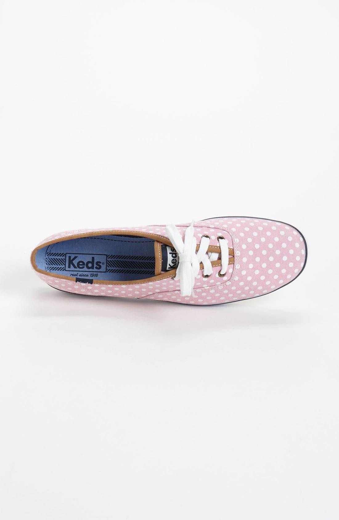 Alternate Image 3  - Keds® 'Champion - Dot' Sneaker (Women)