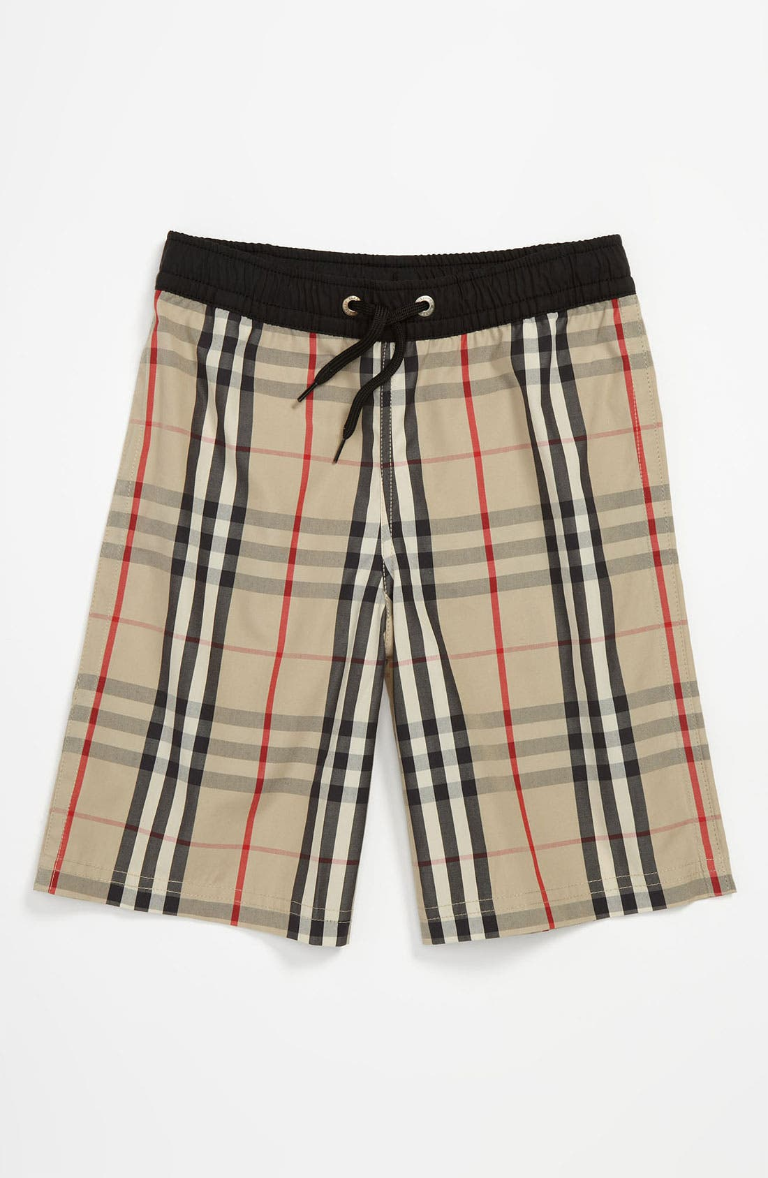 Main Image - Burberry 'Atilony' Swim Shorts (Big Boys)