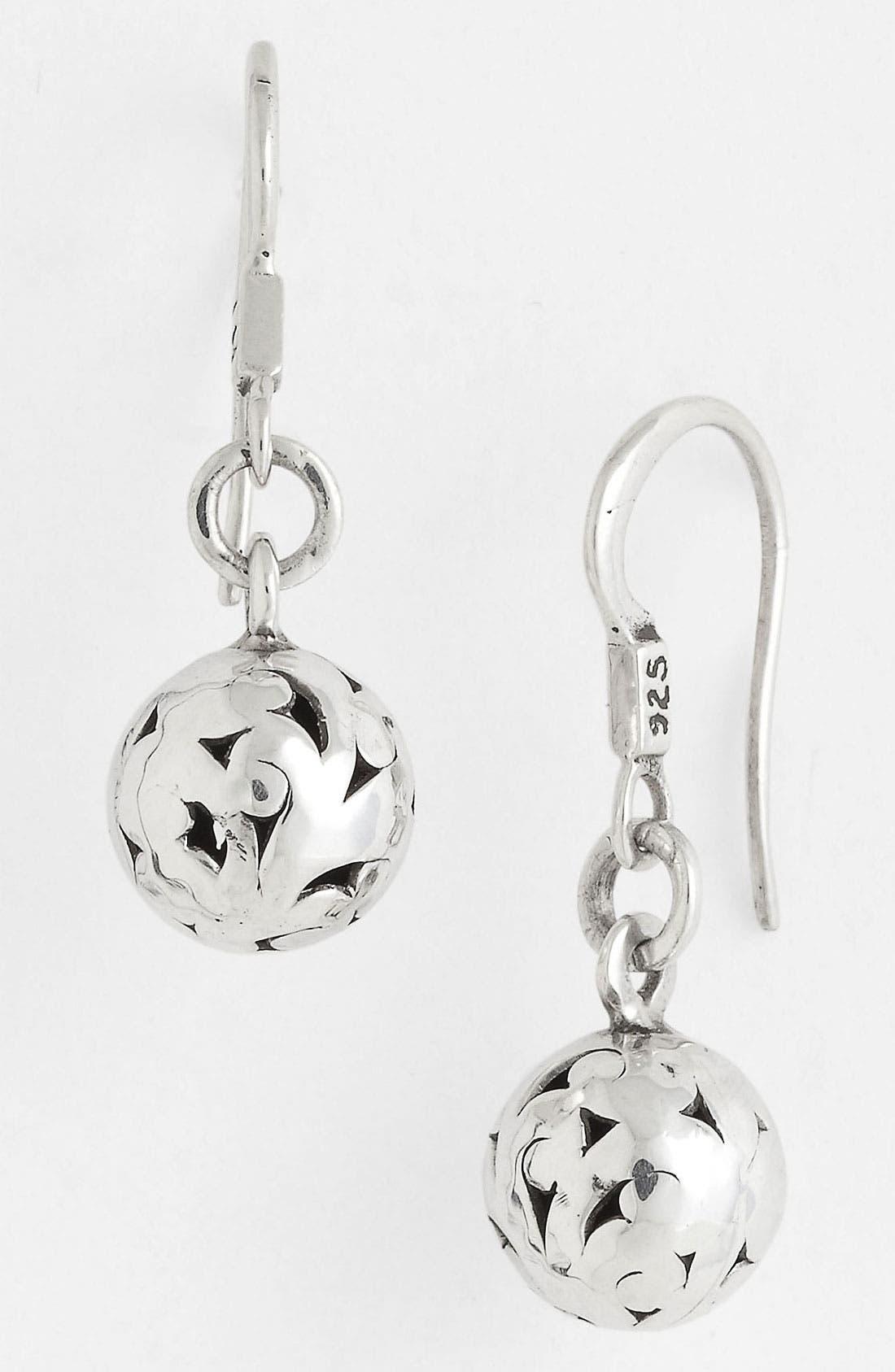 Main Image - Lois Hill 'Ball & Chain' Cutout Drop Earrings