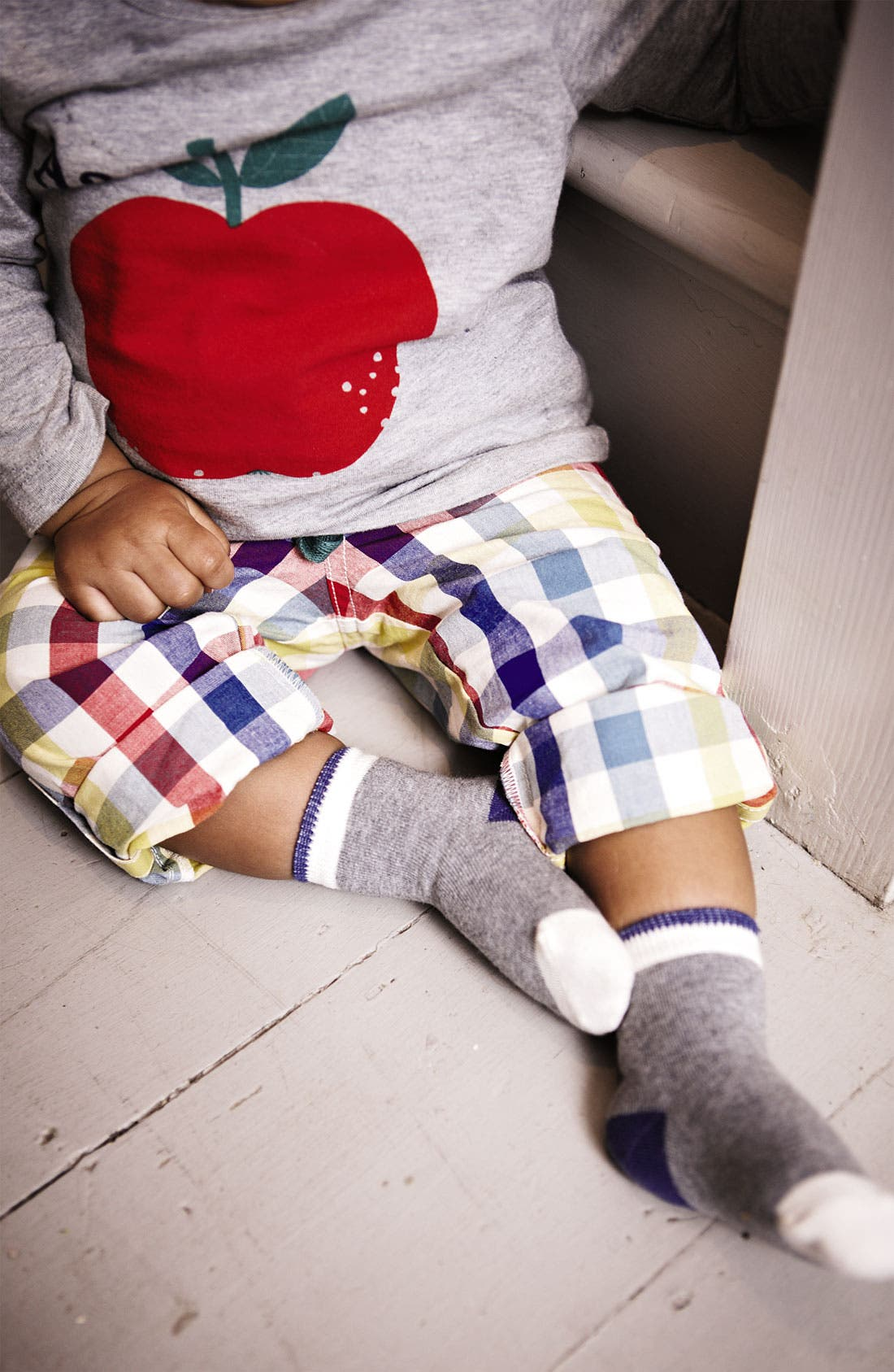 Alternate Image 2  - Mini Boden 'Roll Up' Pants (Baby)