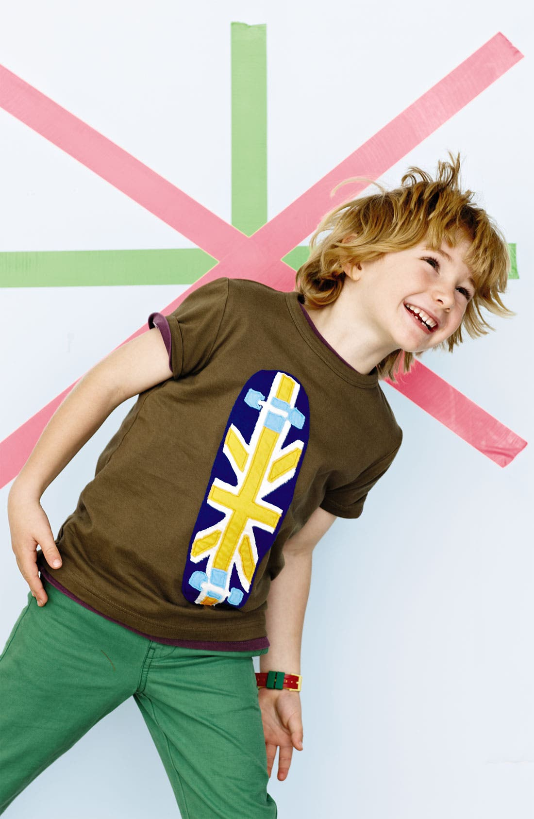 Alternate Image 2  - Mini Boden 'Vehicle' T-Shirt (Little Boys & Big Boys)