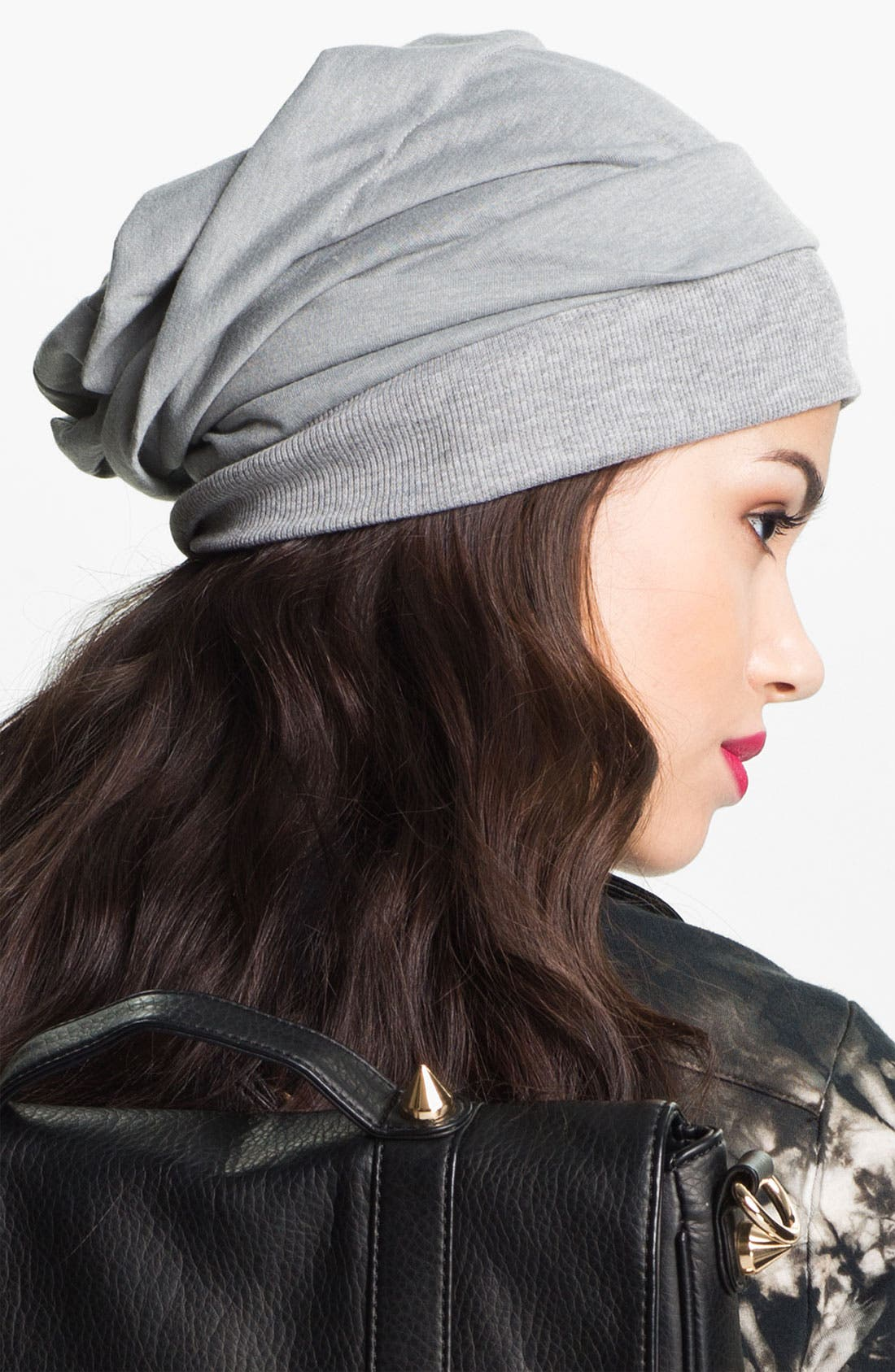 Alternate Image 2  - Grace Hats 'Stitch' Slouchy Beanie