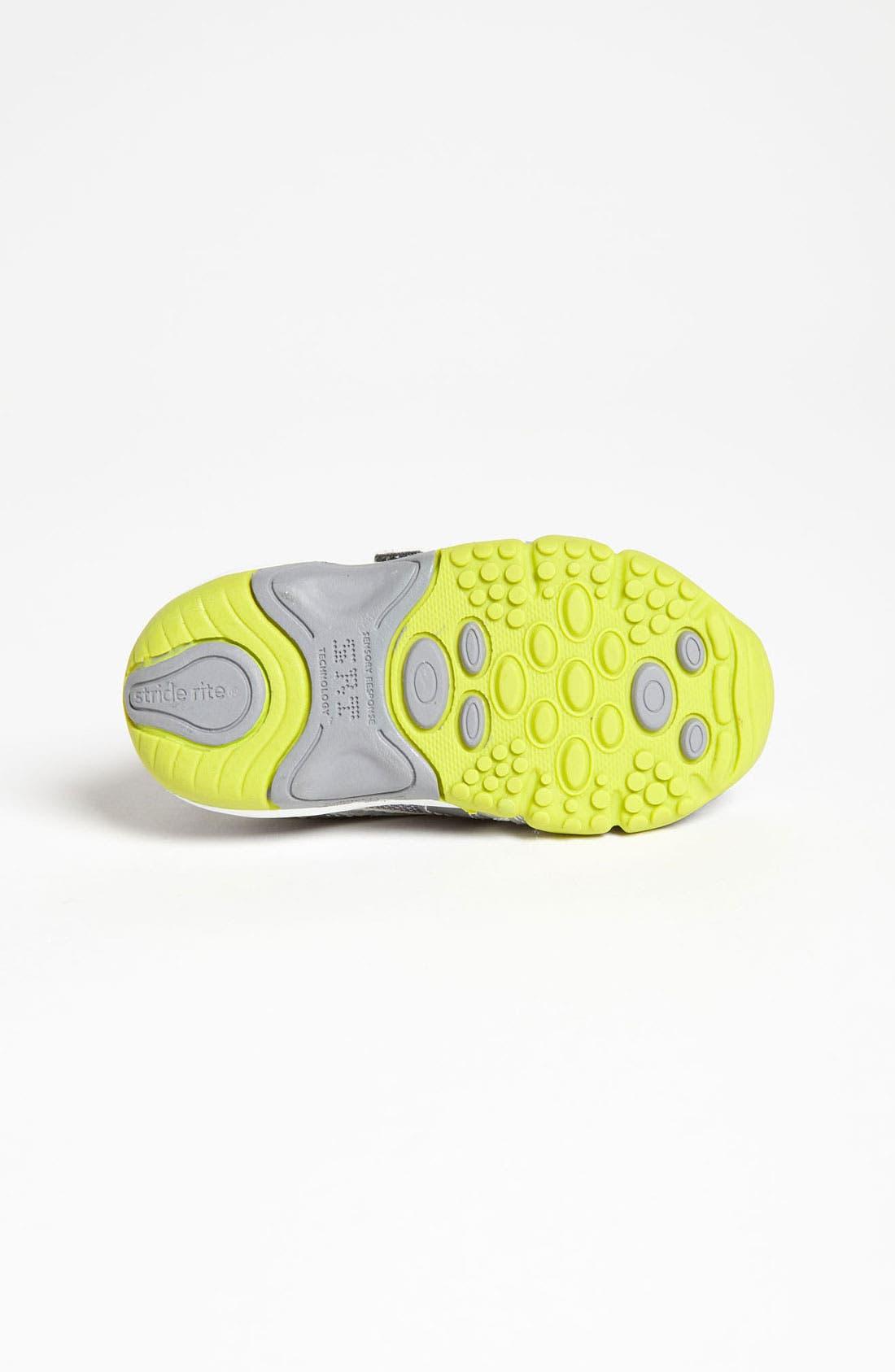 Alternate Image 4  - Stride Rite 'Falcon' Sneaker (Baby, Walker & Toddler)