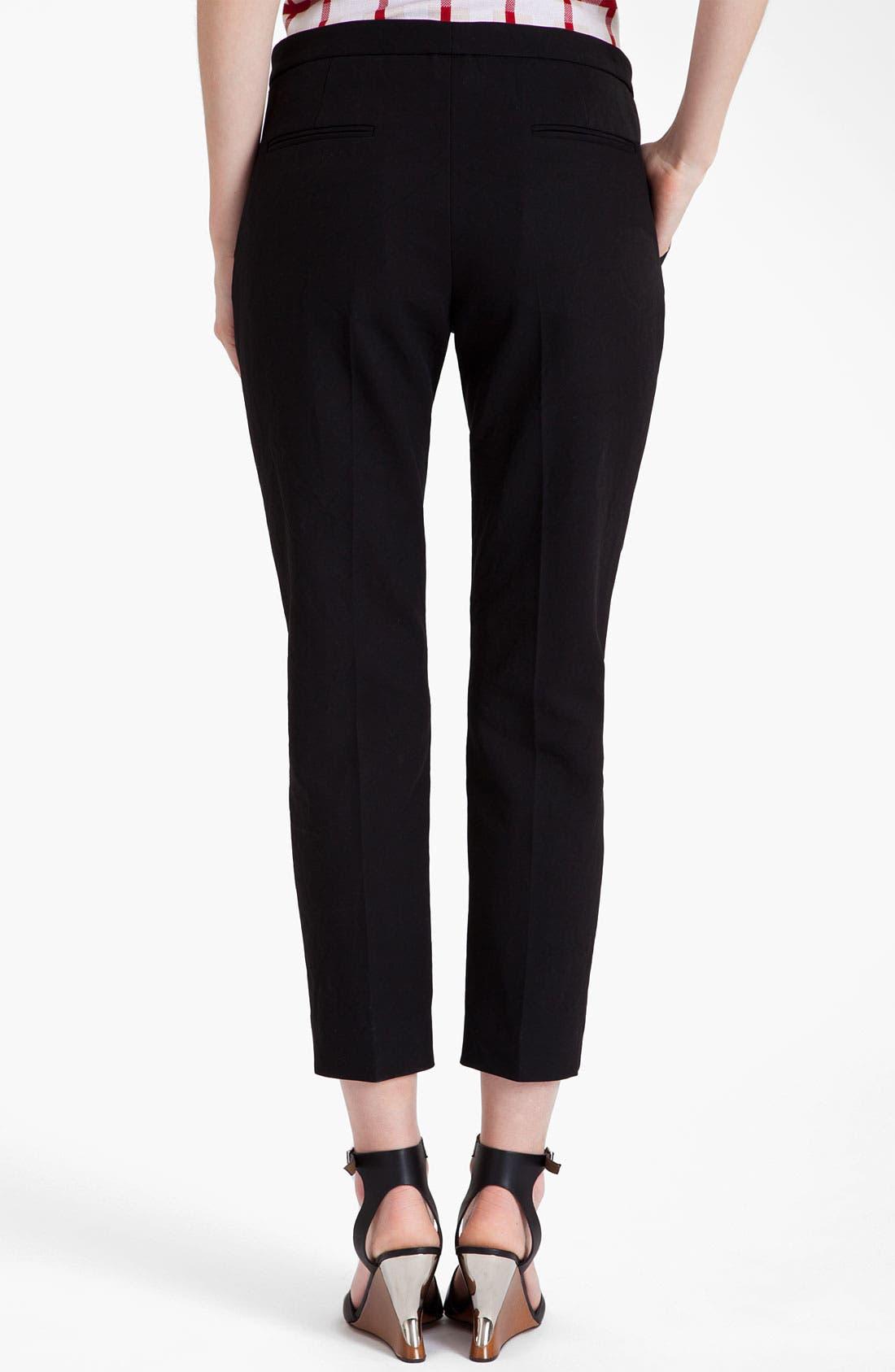 Alternate Image 2  - Marni Compact Poplin Ankle Pants