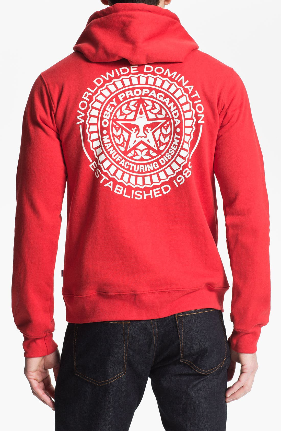 Alternate Image 2  - Obey 'Legion' Graphic Hoodie