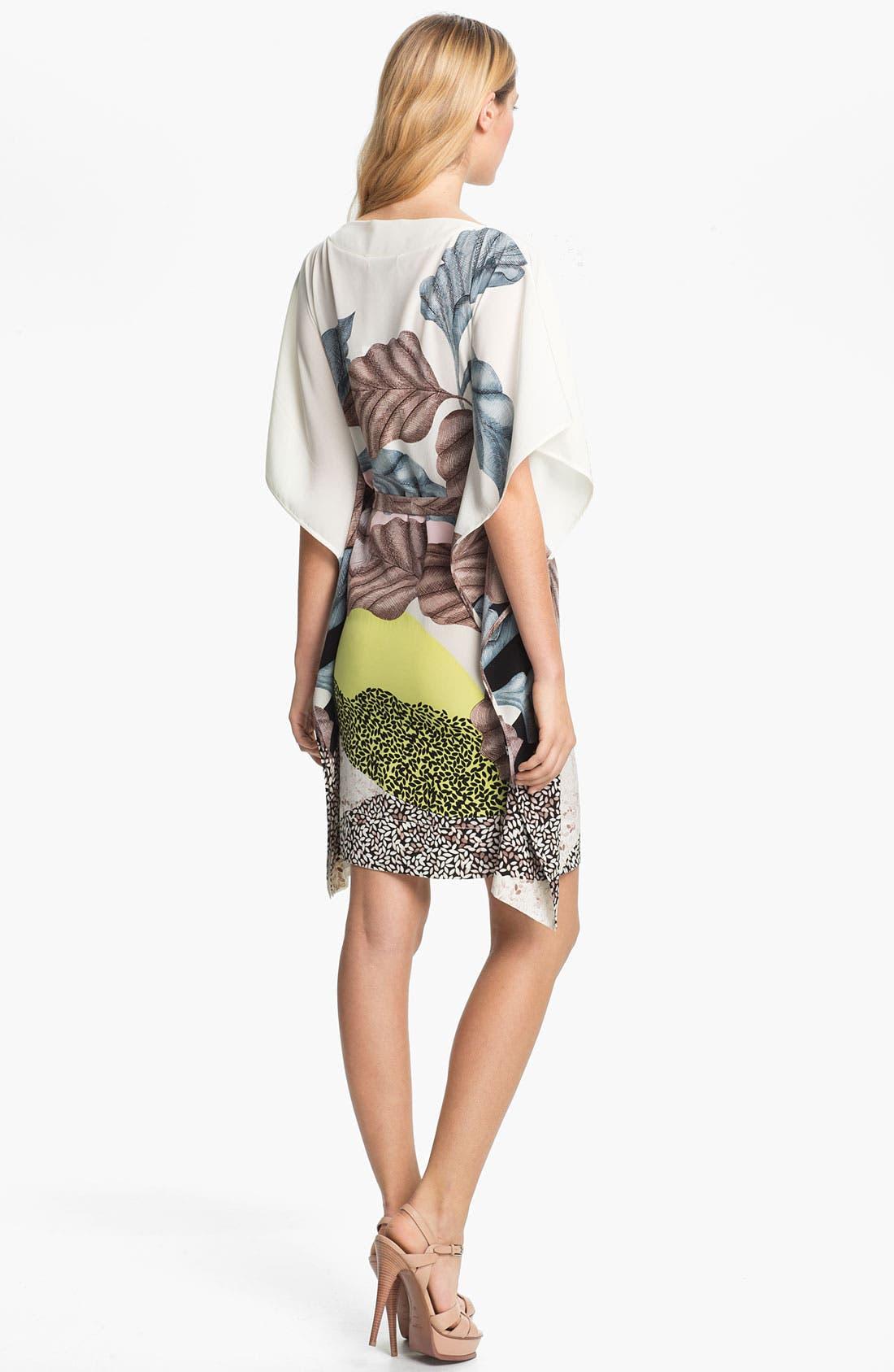 Alternate Image 2  - Diane von Furstenberg 'Diane Hanky' Print Silk Dress
