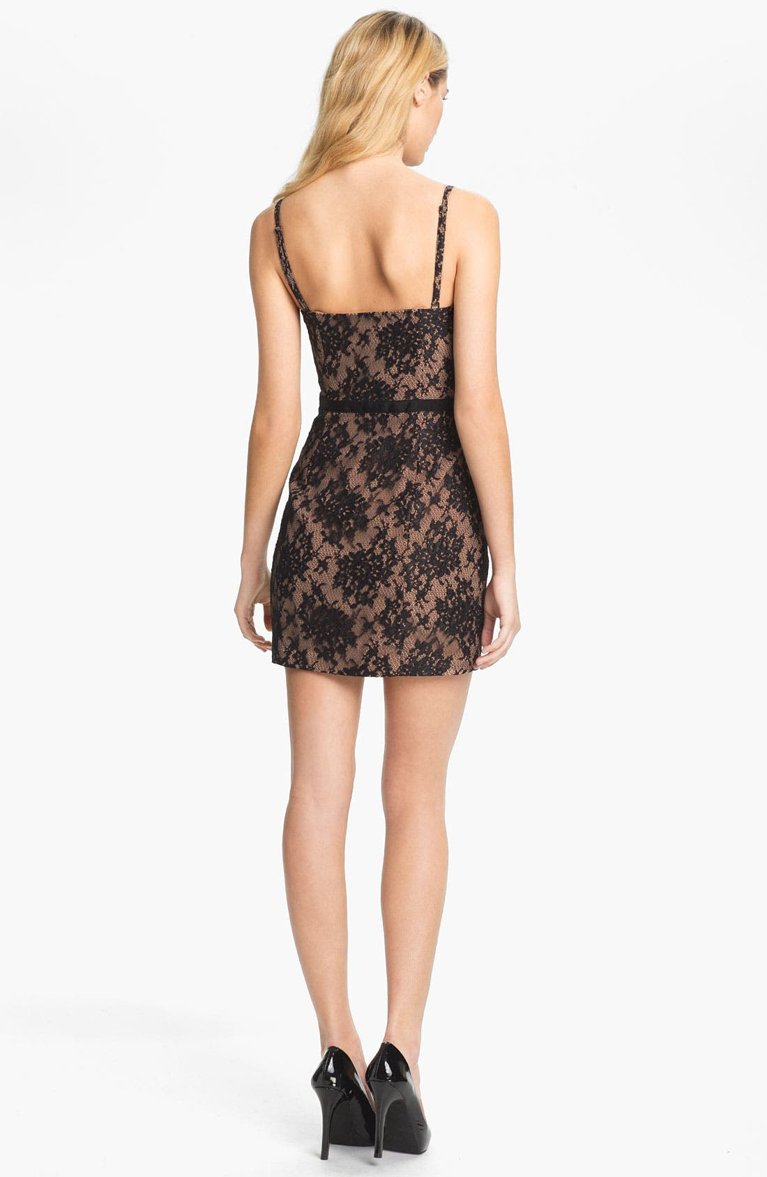 Alternate Image 2  - Haute Hippie Lace Corset Dress