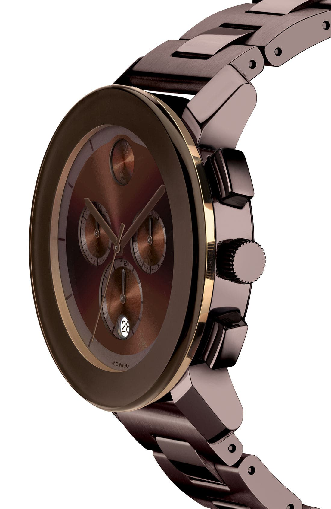 Alternate Image 2  - Movado 'Large Bold Chronograph' Bracelet Watch