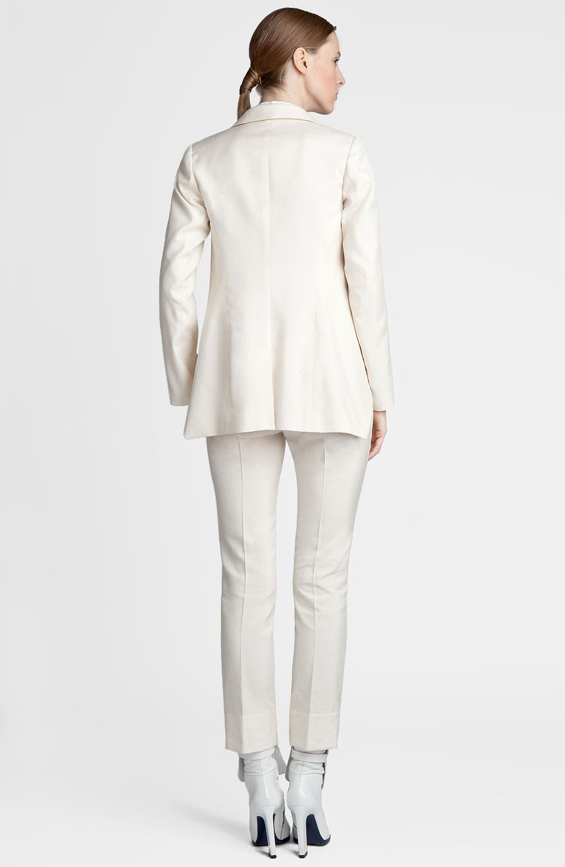 Alternate Image 4  - Jil Sander 'Niccolo' Slim Cotton & Silk Pants