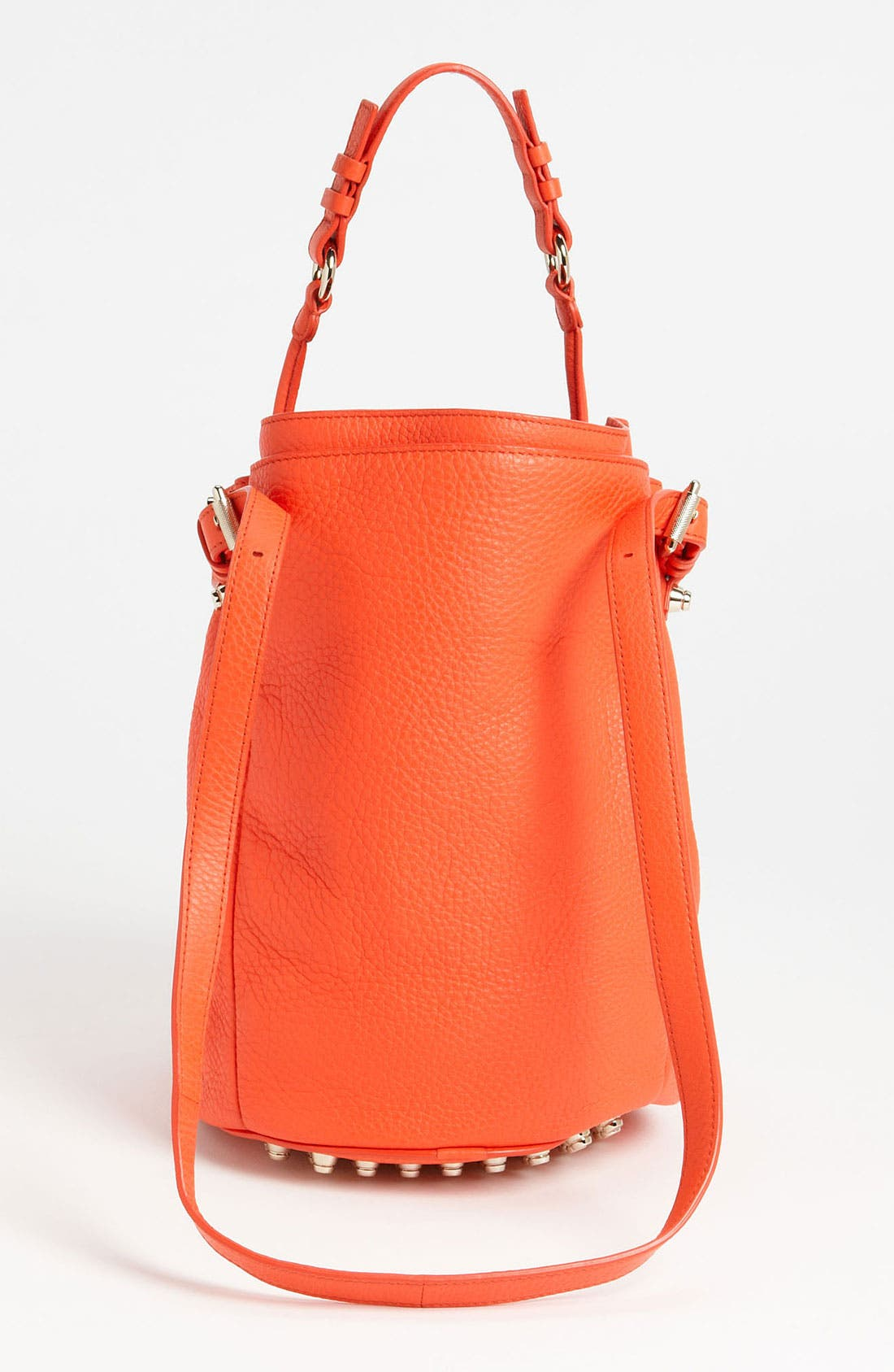 Alternate Image 4  - Alexander Wang 'Diego - Pale Gold' Leather Bucket Bag