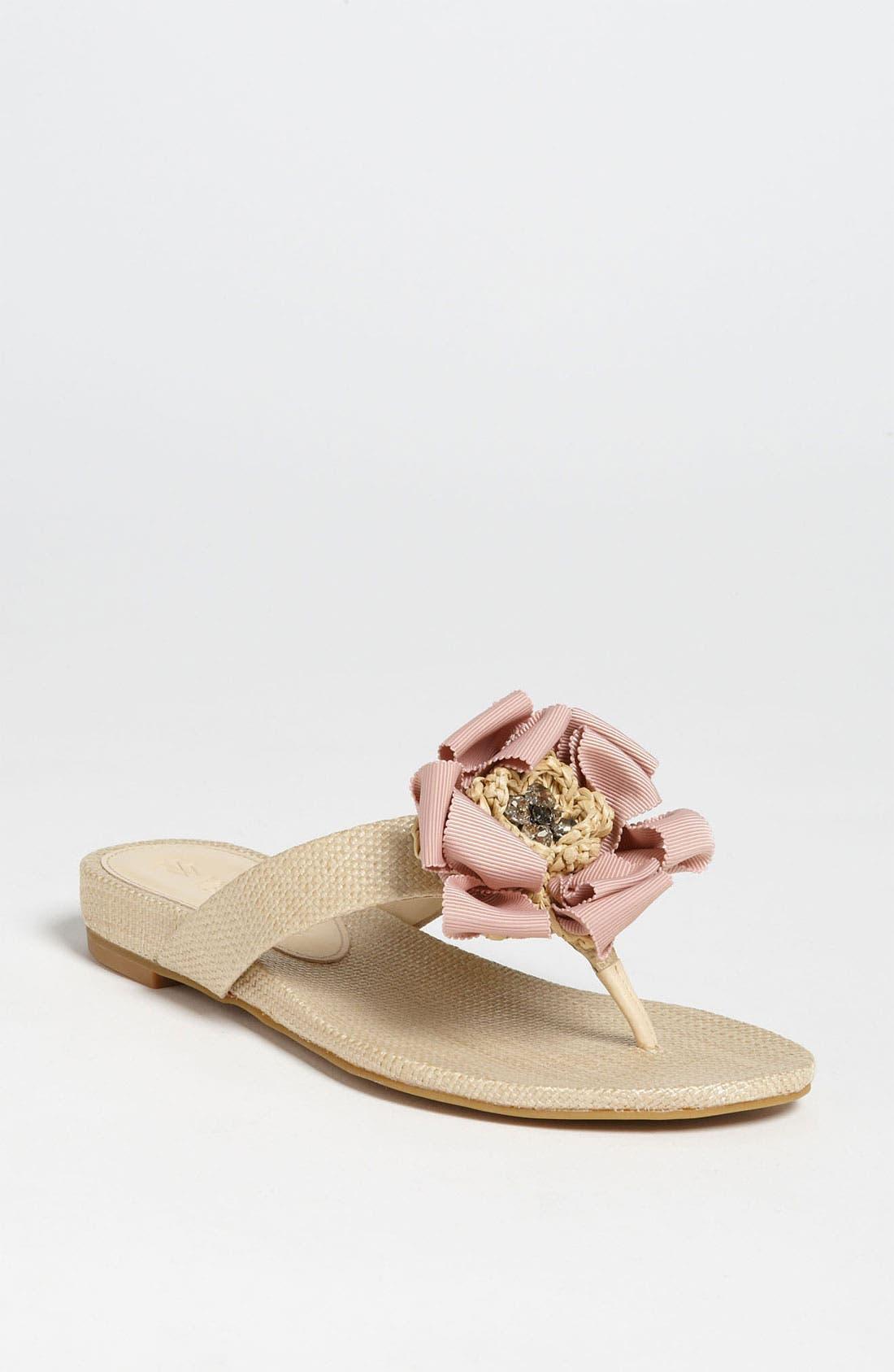 Alternate Image 1 Selected - Vera Wang Footwear 'Blaine' Skimmer