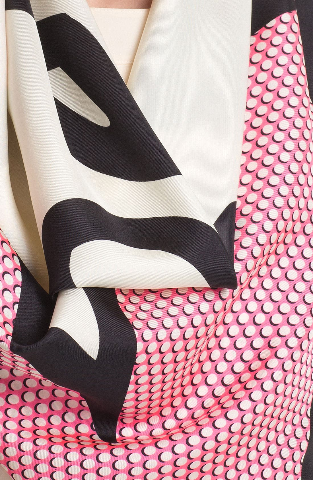 Alternate Image 2  - kate spade new york 'pop' silk scarf