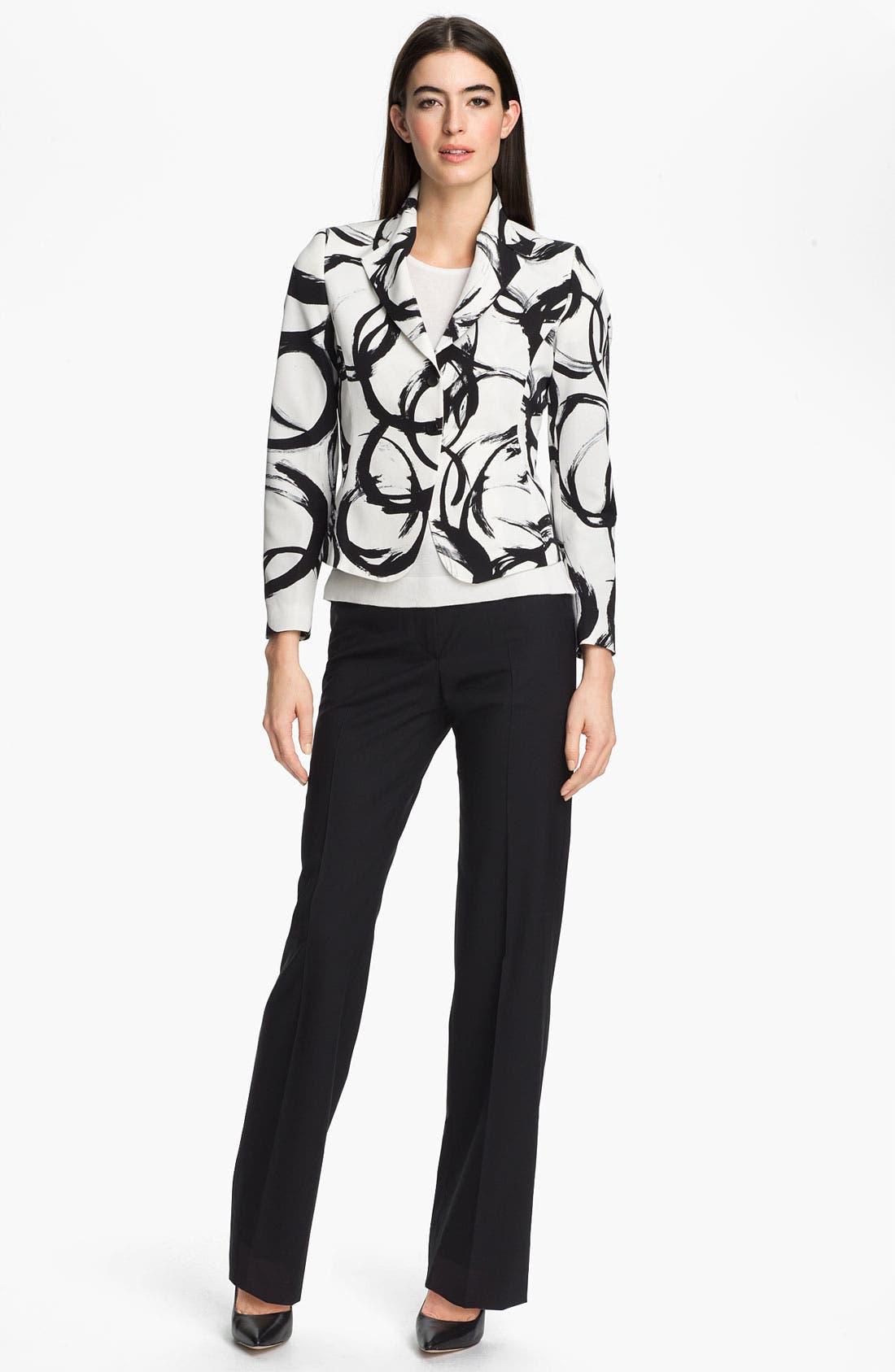 Alternate Image 4  - Zanella 'Ricky' Print Jacket