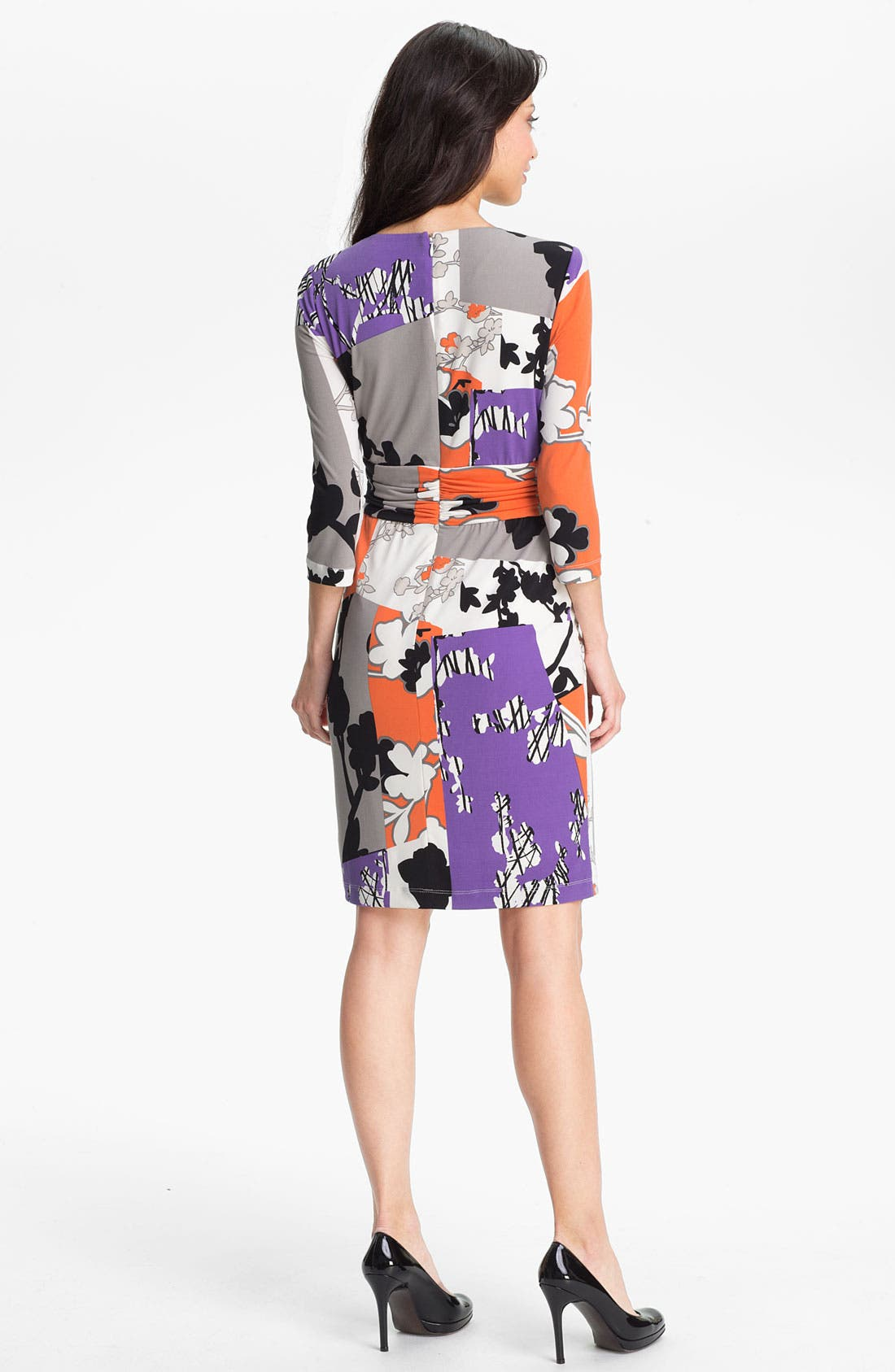 Alternate Image 2  - Maggy London Printed Jersey Dress