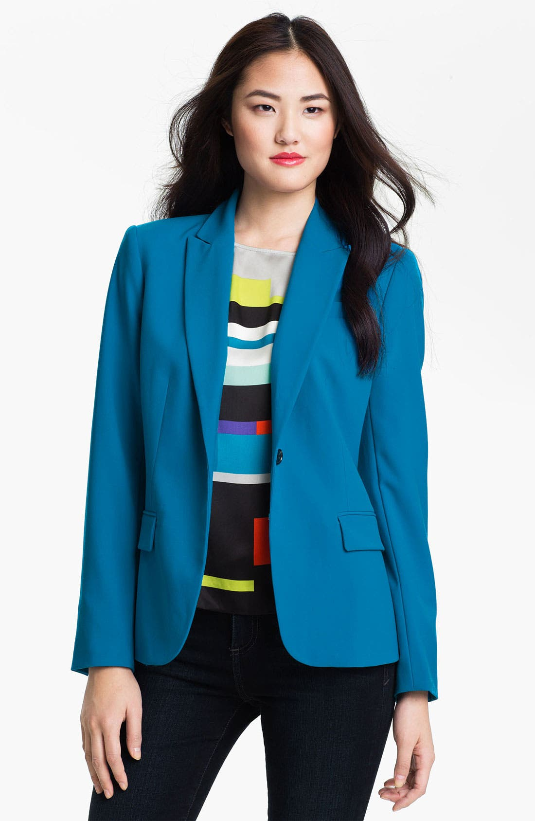 Alternate Image 1 Selected - Vince Camuto 'Scarpa' One Button Jacket