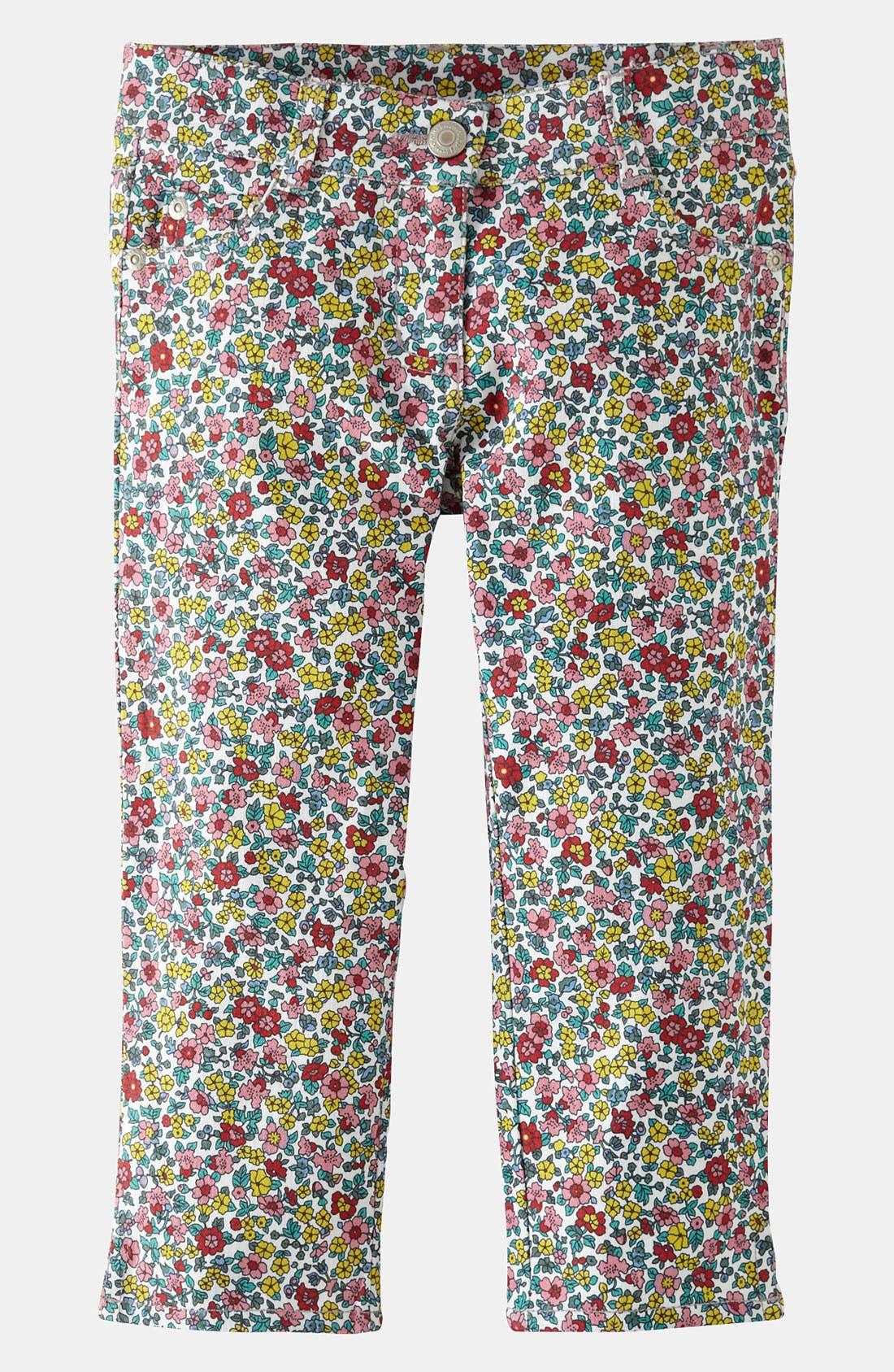 Alternate Image 1 Selected - Mini Boden Capri Pants (Little Girls & Big Girls)