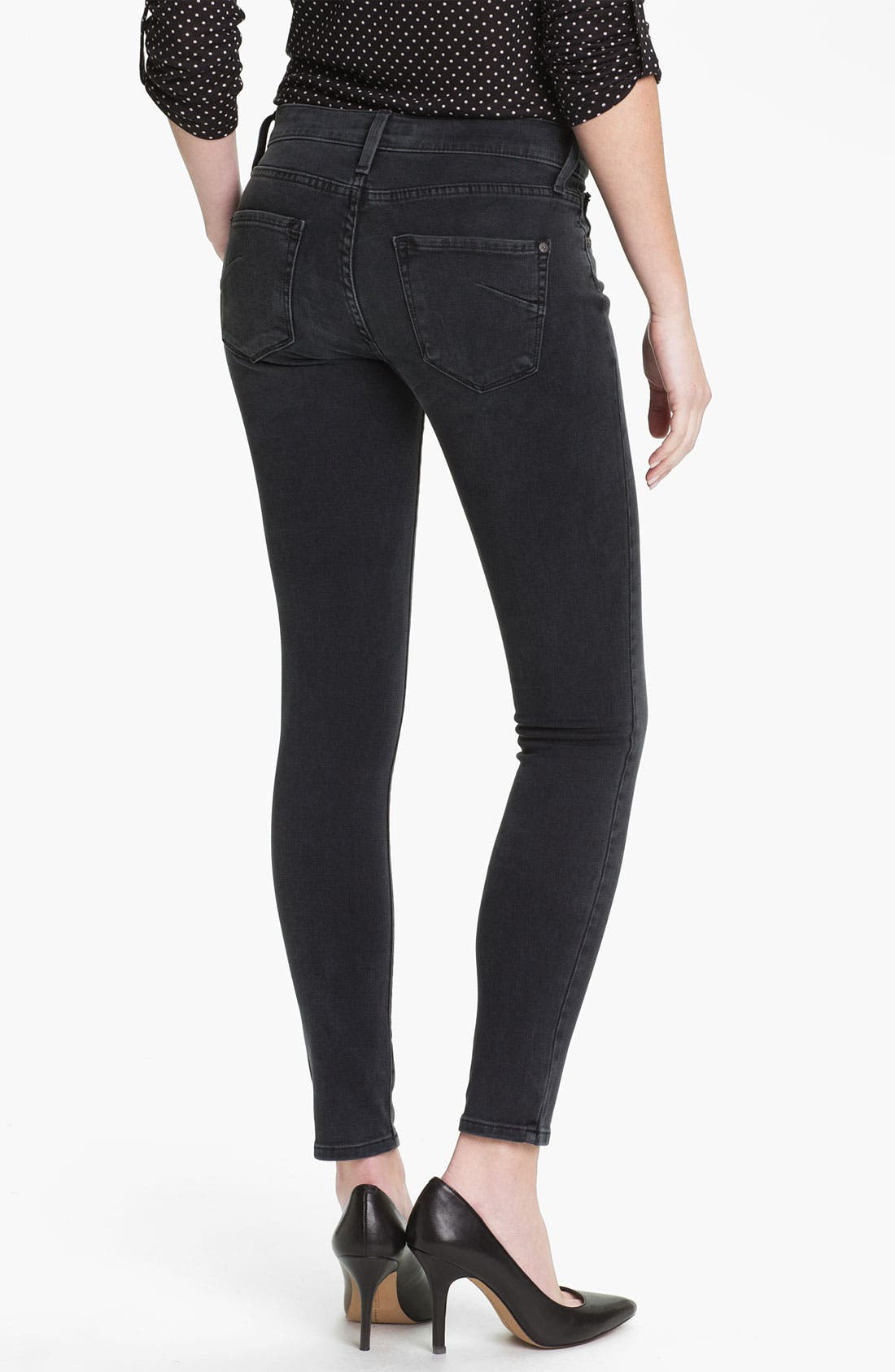 Alternate Image 2  - James Jeans Stretch Denim Leggings (Petite) (Online Exclusive)