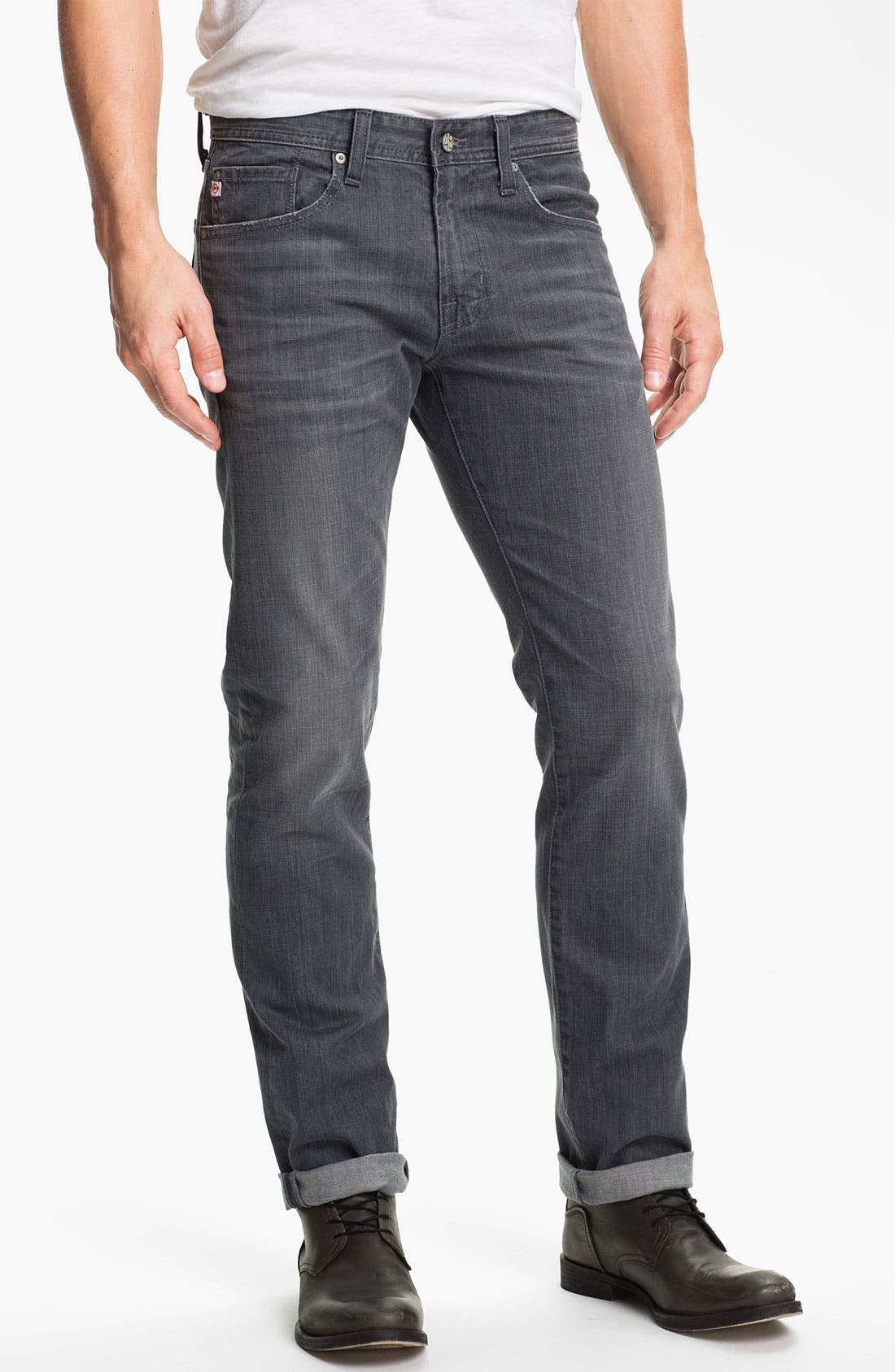 Alternate Image 1 Selected - AG Jeans 'Matchbox' Slim Fit Jeans (7 Year Grey)