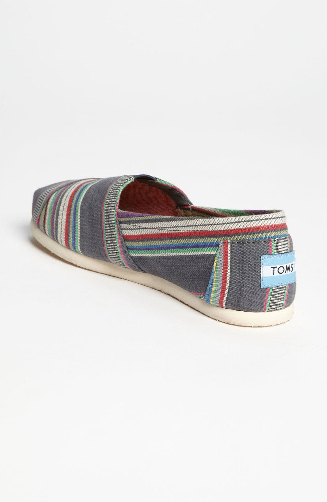 Alternate Image 2  - TOMS 'Classic - Stripe' Slip-On (Women)