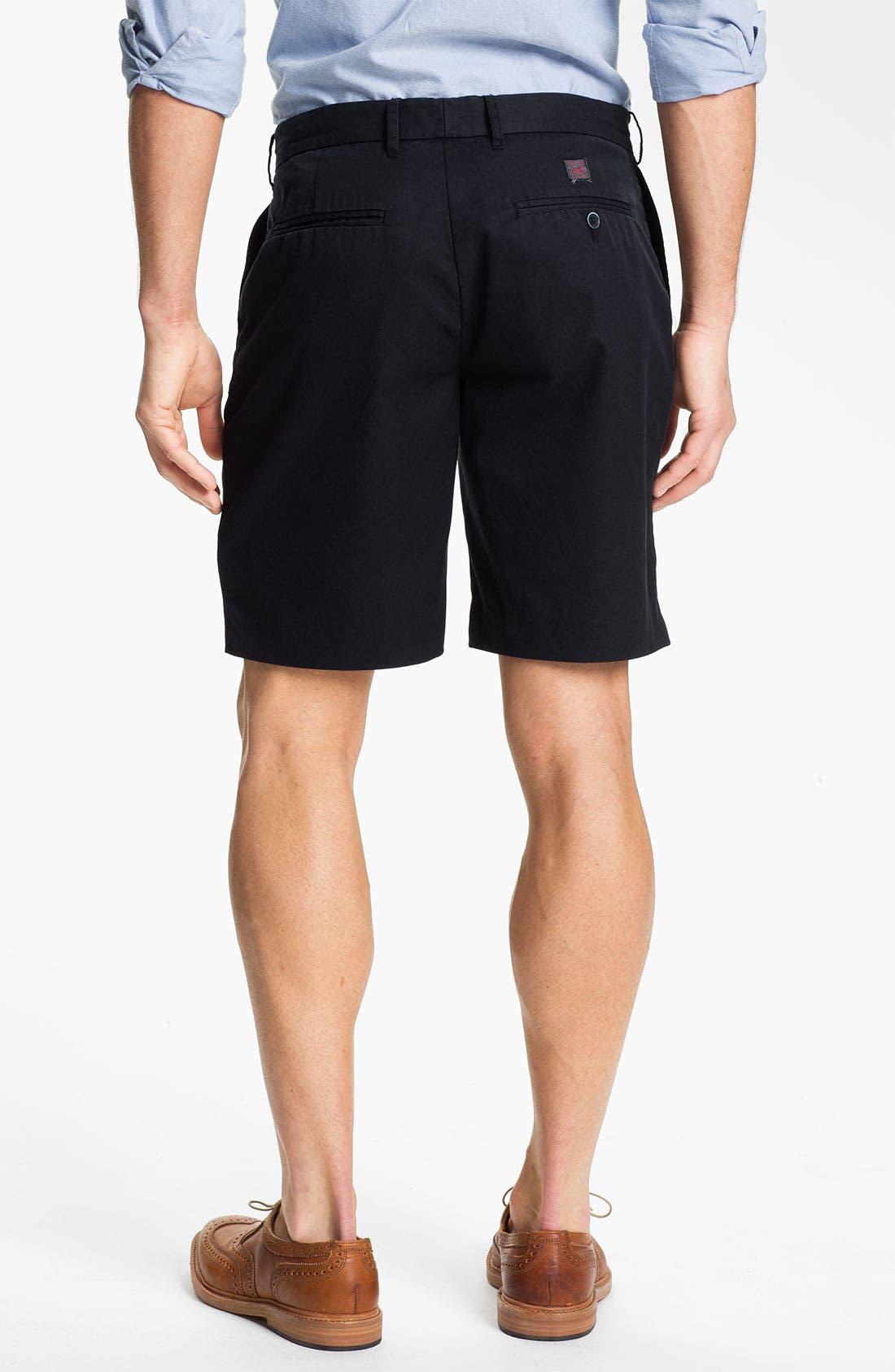 Alternate Image 2  - Grayers 'Menswear Club' Flat Front Shorts
