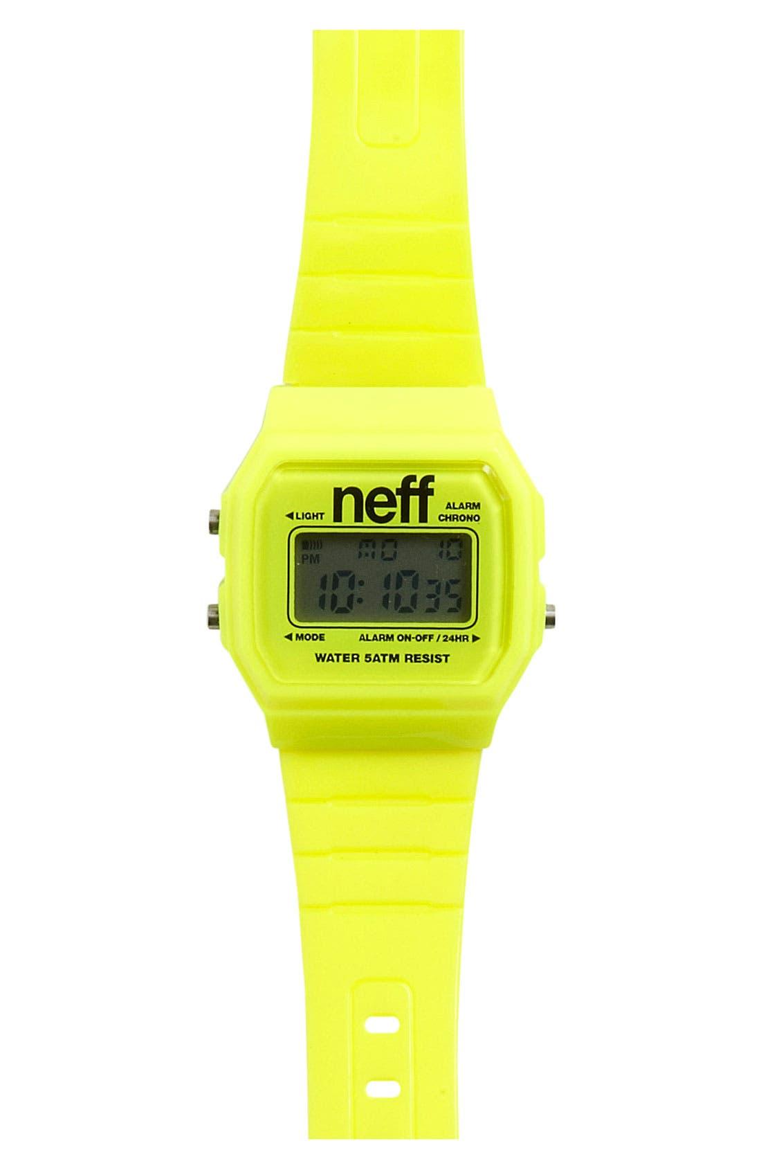 Alternate Image 1 Selected - Neff 'Flava' Watch (Big Boys)