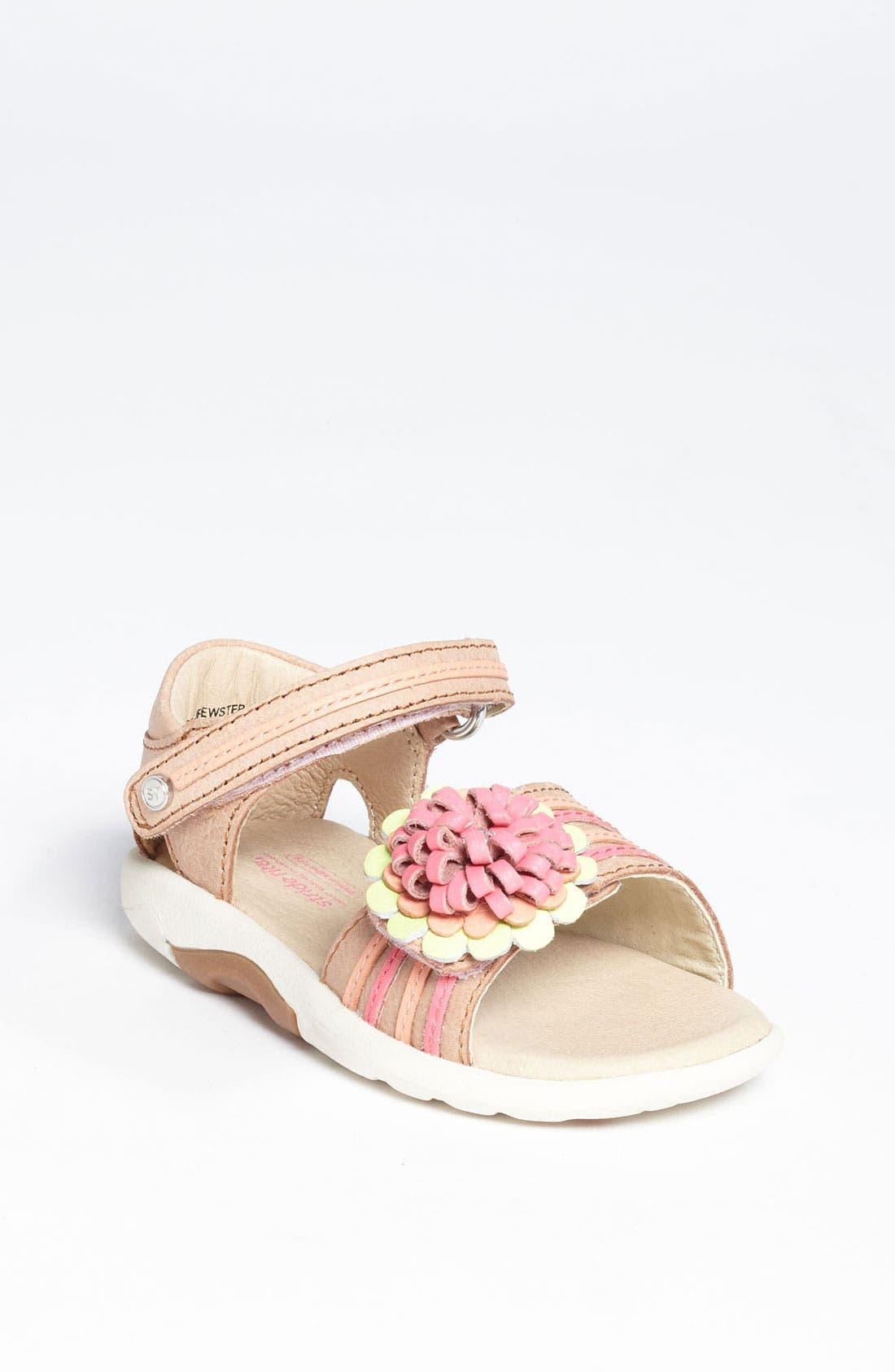 Alternate Image 1 Selected - Stride Rite 'Brewster' Sandal (Baby, Walker & Toddler)