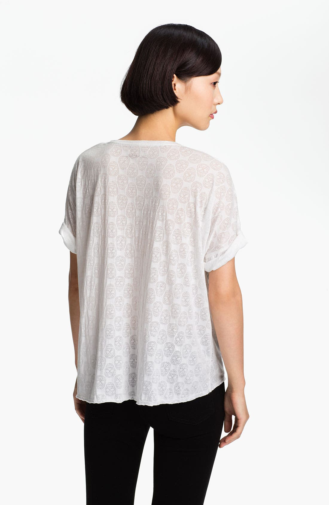 Alternate Image 2  - Zadig & Voltaire 'Bonnie' Burnout Tee