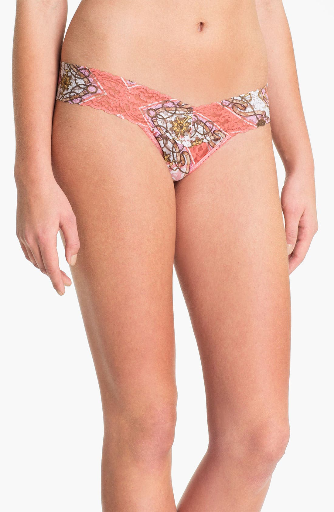 Alternate Image 1 Selected - Hanky Panky 'Jacquelyn' Low Rise Thong