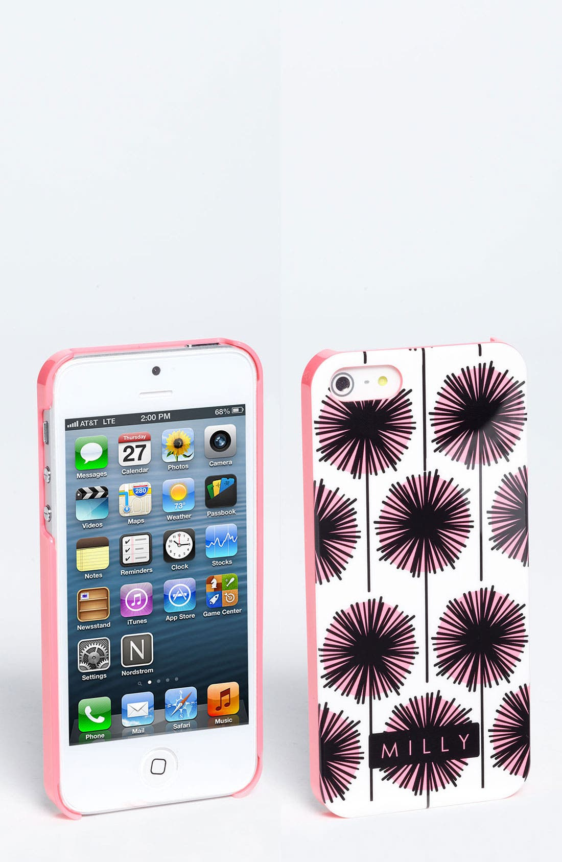 Alternate Image 1 Selected - Milly 'Starburst' Print iPhone 5 Case