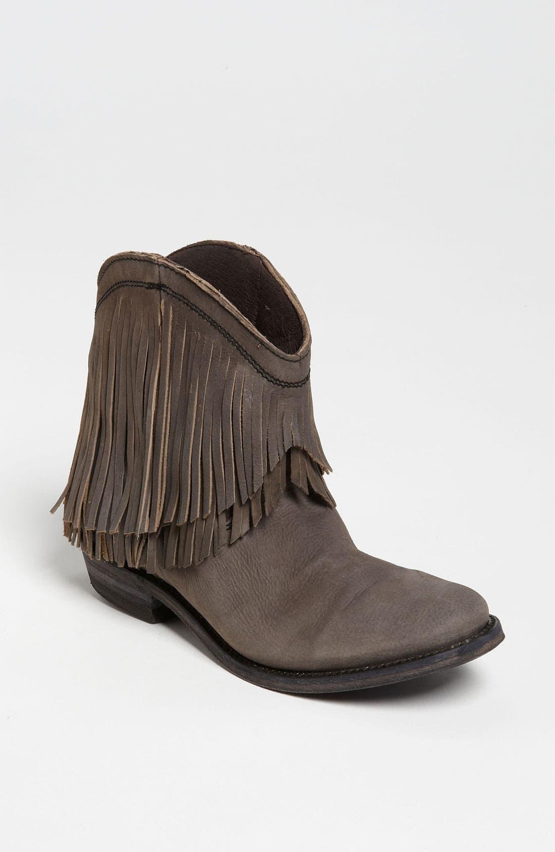 Main Image - Liberty Black Short Fringe Boot