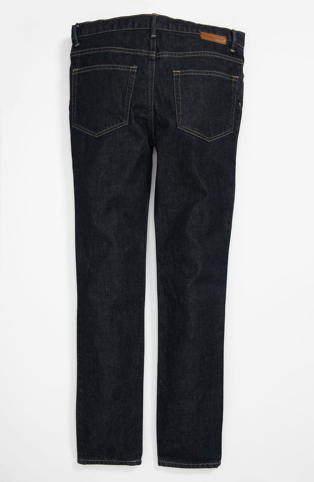 Alternate Image 1 Selected - Burberry Skinny Leg Jeans (Little Boys & Big Boys)