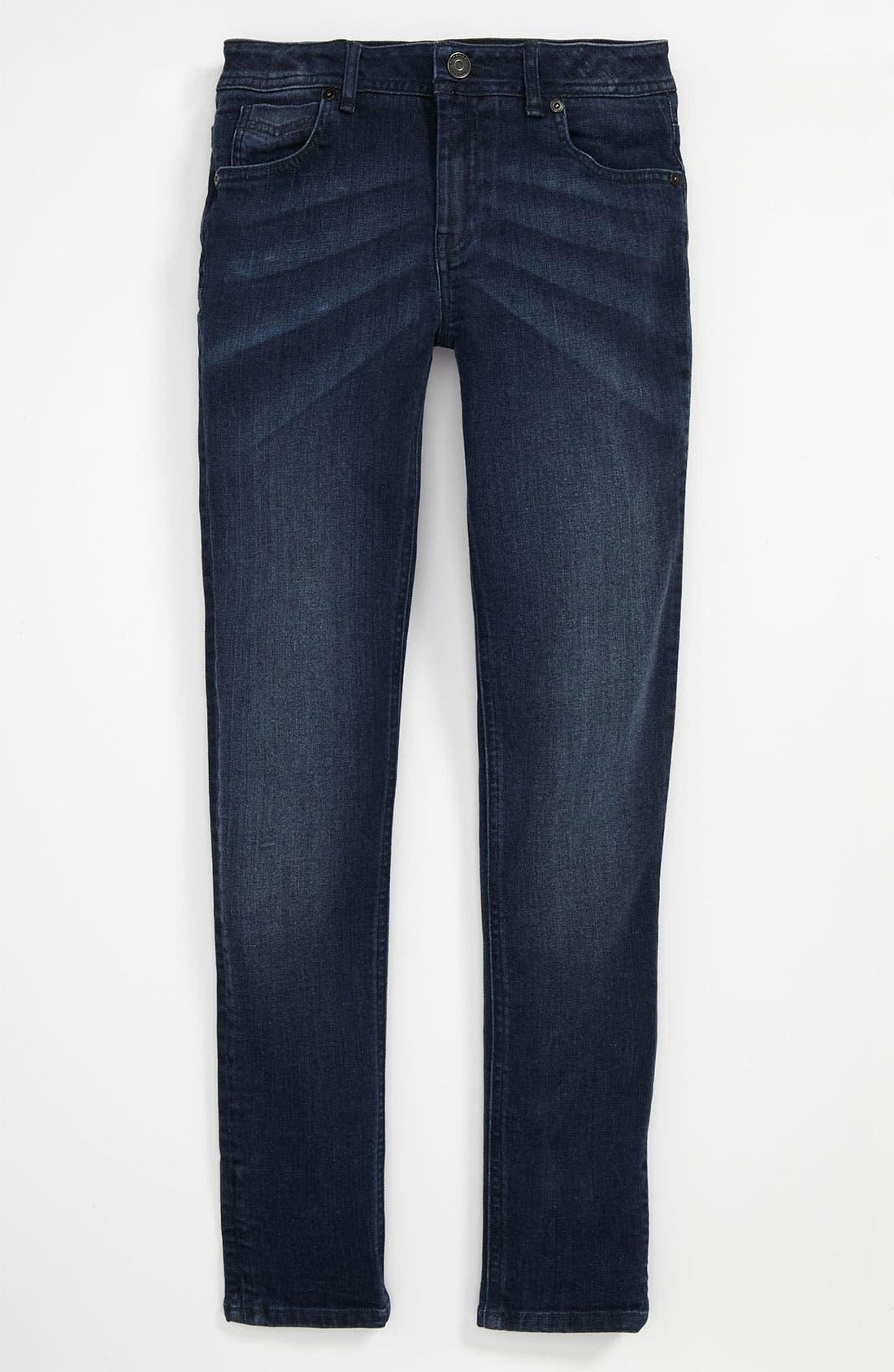 Alternate Image 2  - Burberry 'Mini Langley' Skinny Jeans (Little Girls & Big Girls)