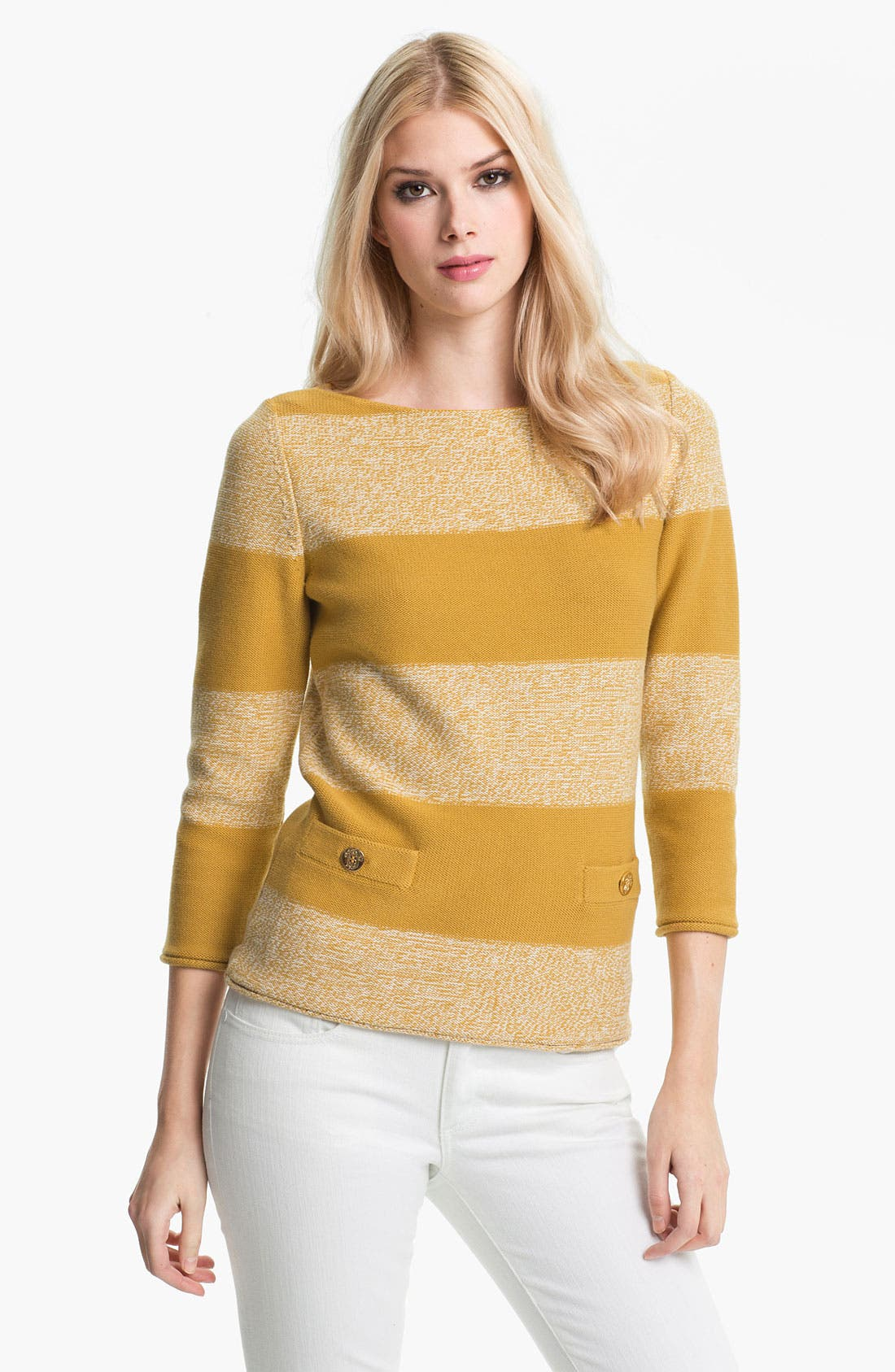 Alternate Image 1 Selected - Tory Burch 'Becky' Sweater