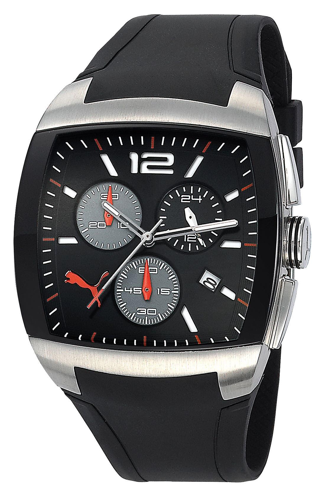 Alternate Image 1 Selected - PUMA 'GT Chronograph' Analog Watch, 44mm