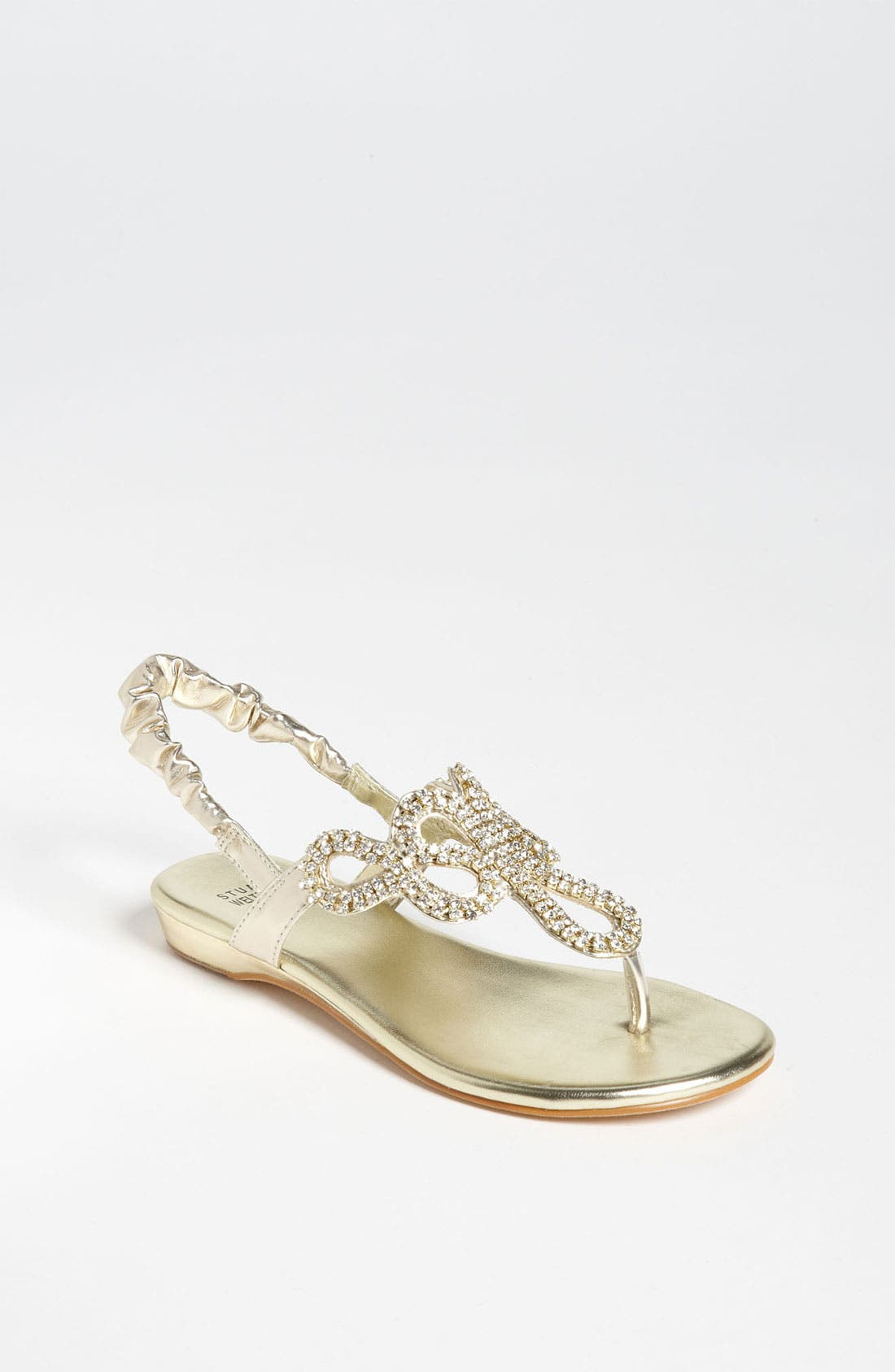 Main Image - Stuart Weitzman 'Fire Opal' Sandal (Little Kid & Big Kid)