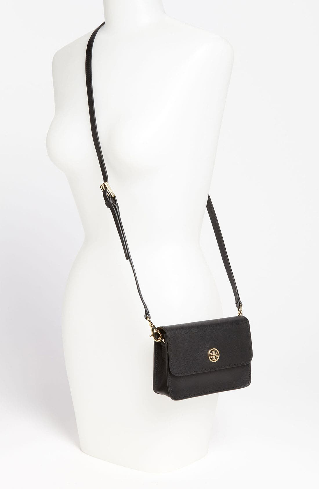 Alternate Image 2  - Tory Burch 'Robinson - Mini' Leather Crossbody Bag