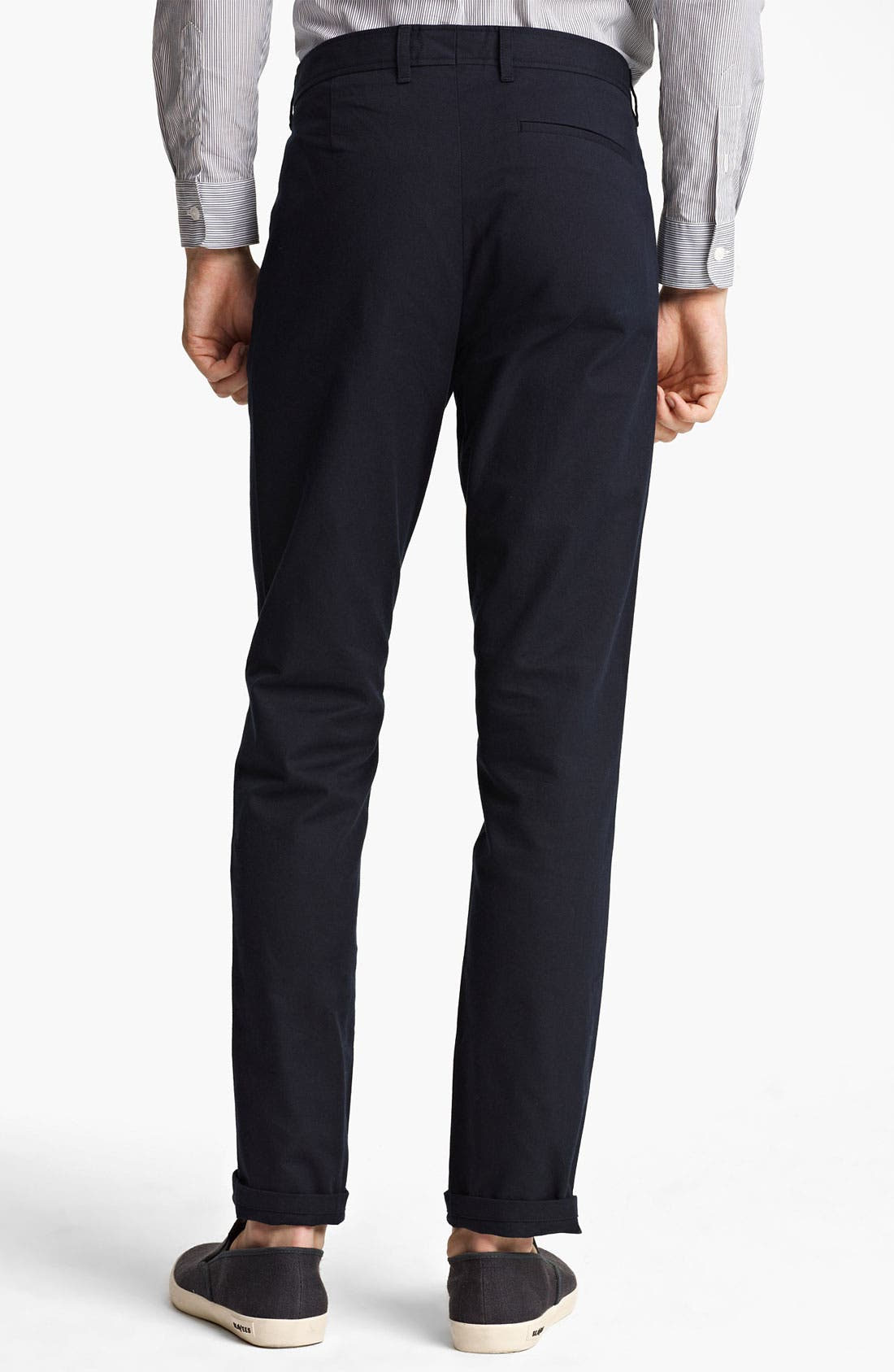 Alternate Image 2  - A.P.C. Straight Leg Cotton Pants