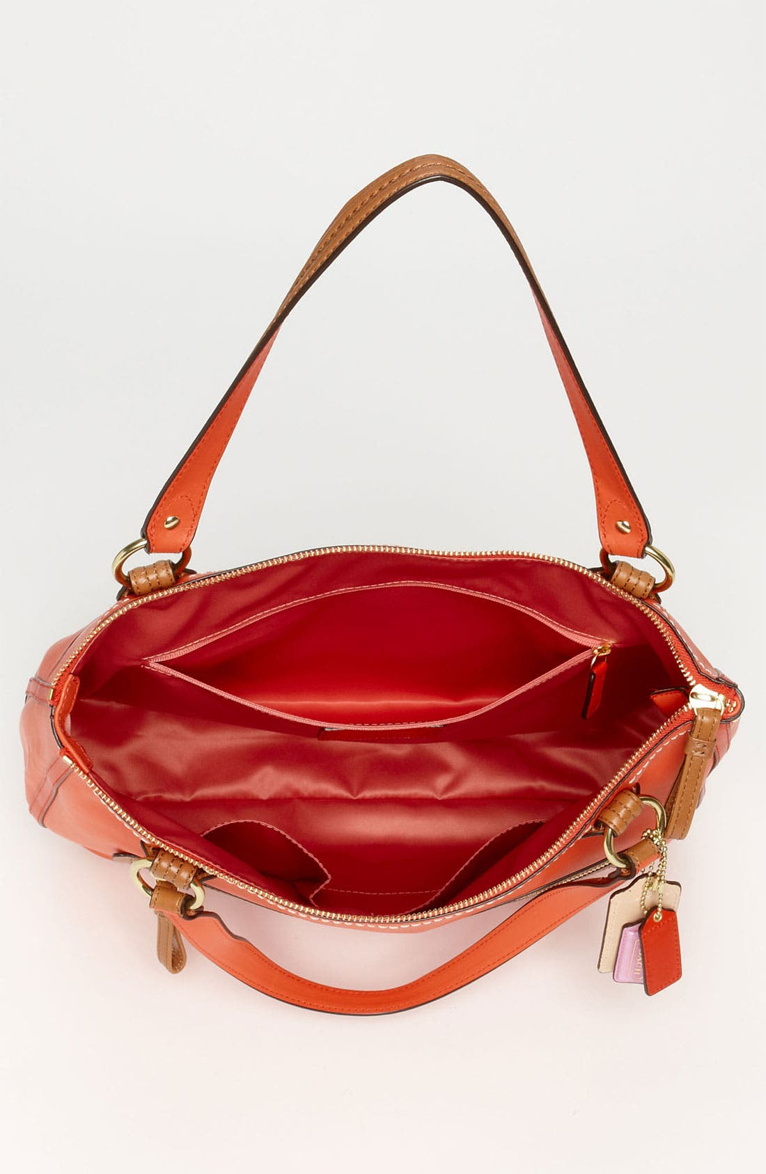 Alternate Image 3  - COACH 'Poppy Colorblock' Leather Tote