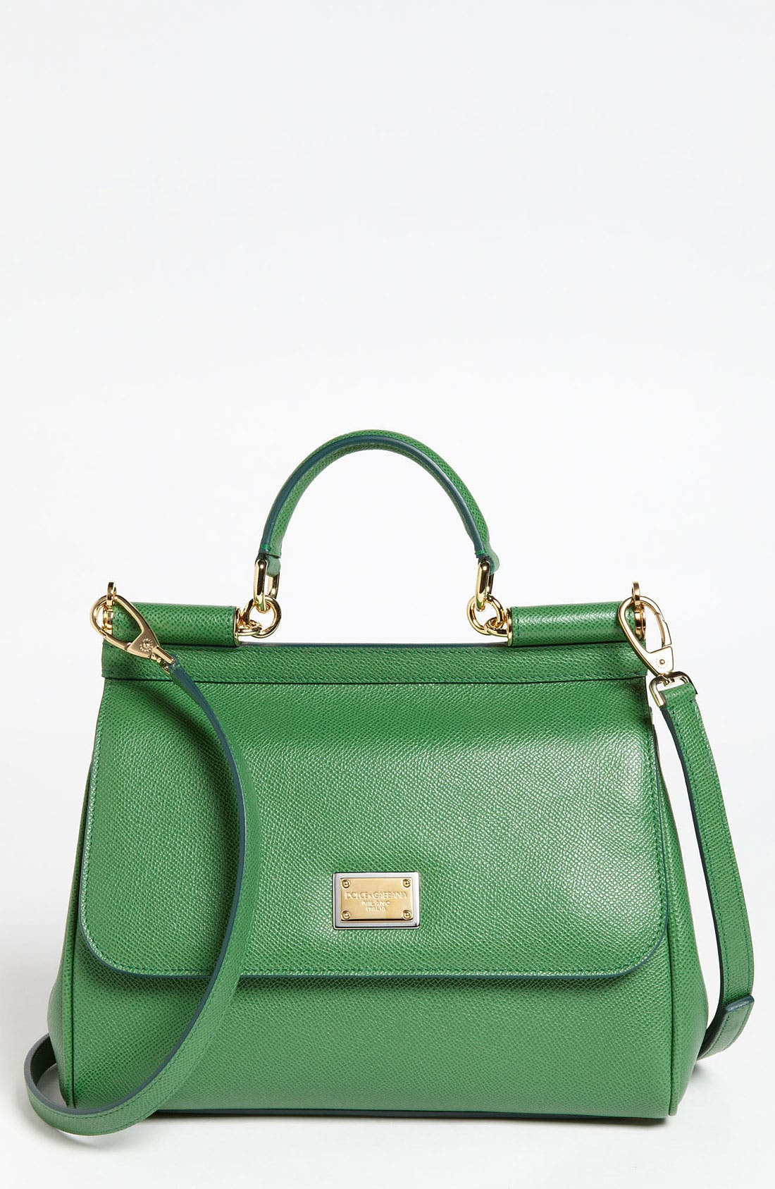 Main Image - Dolce&Gabbana 'Miss Sicily - Small' Leather Satchel