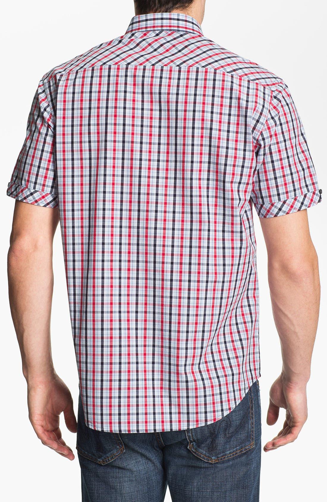 Alternate Image 2  - James Campbell 'Ellis' Plaid Sport Shirt