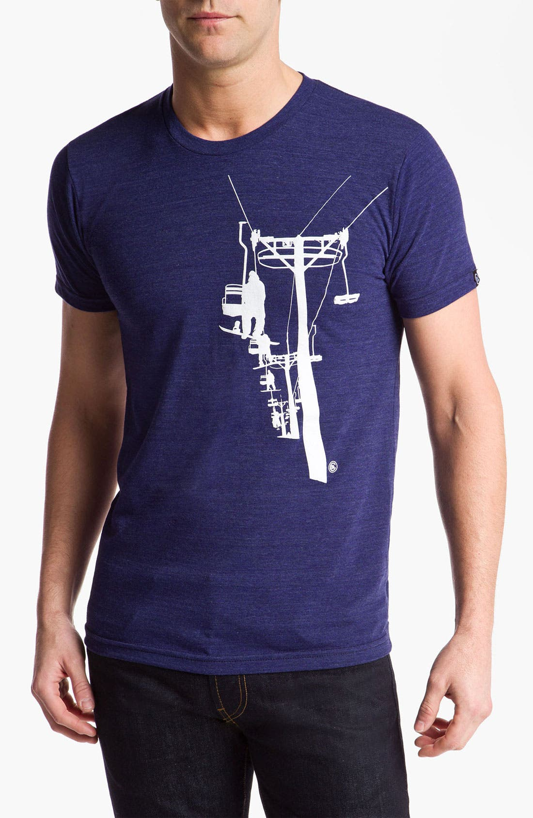 Alternate Image 1 Selected - Casual Industrees 'Chairlift' T-Shirt
