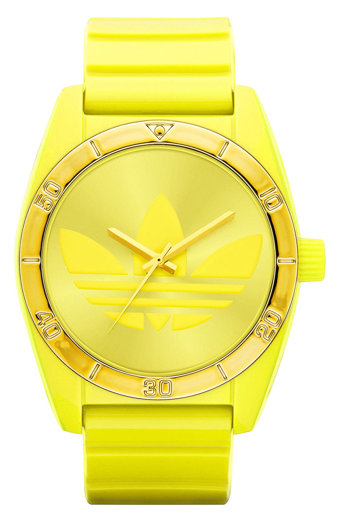 Main Image - adidas Originals 'Santiago' Neon Watch, 42mm