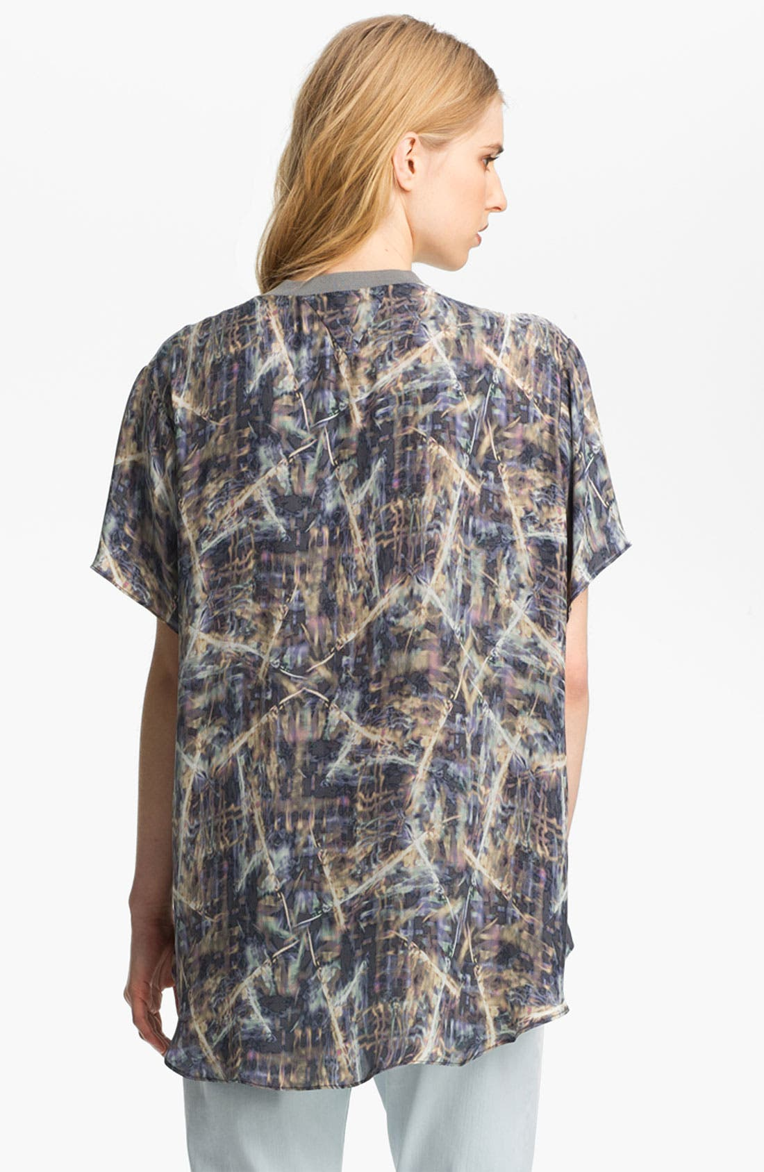 Alternate Image 3  - Theyskens' Theory 'Bonit Iflash' Silk Tee