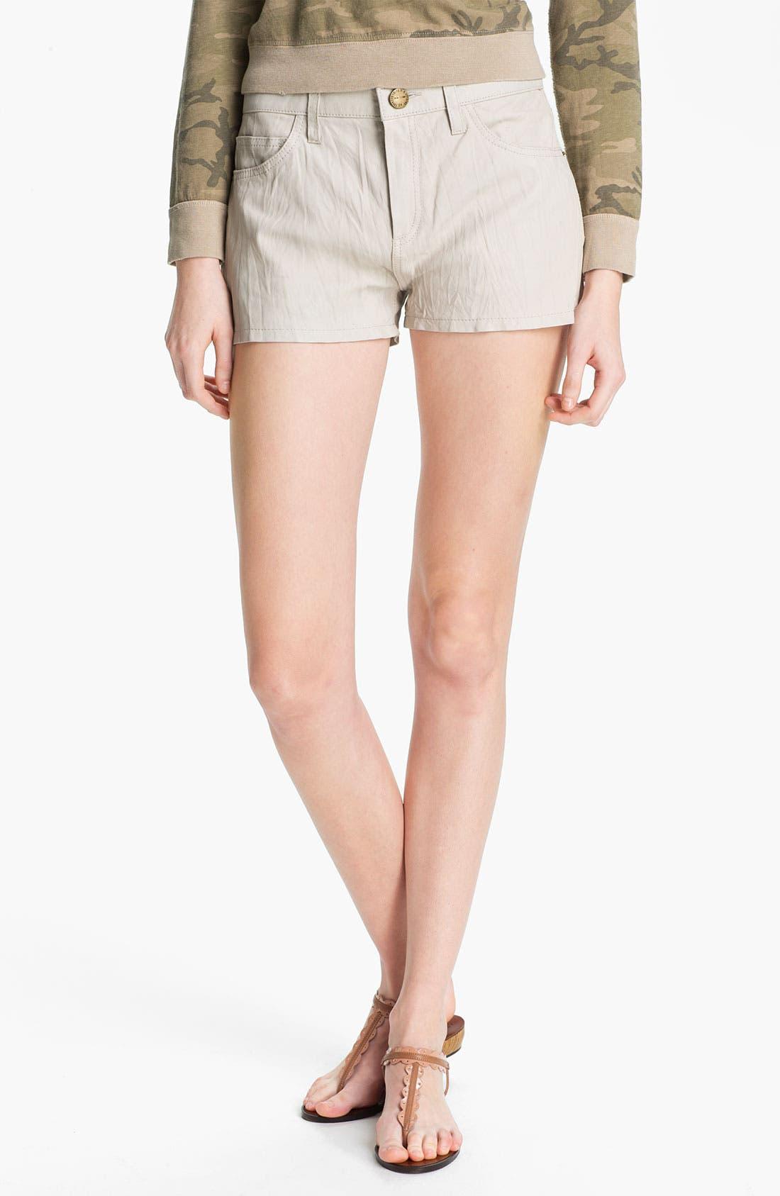Main Image - Current/Elliott 'The Boyfriend' Leather Shorts