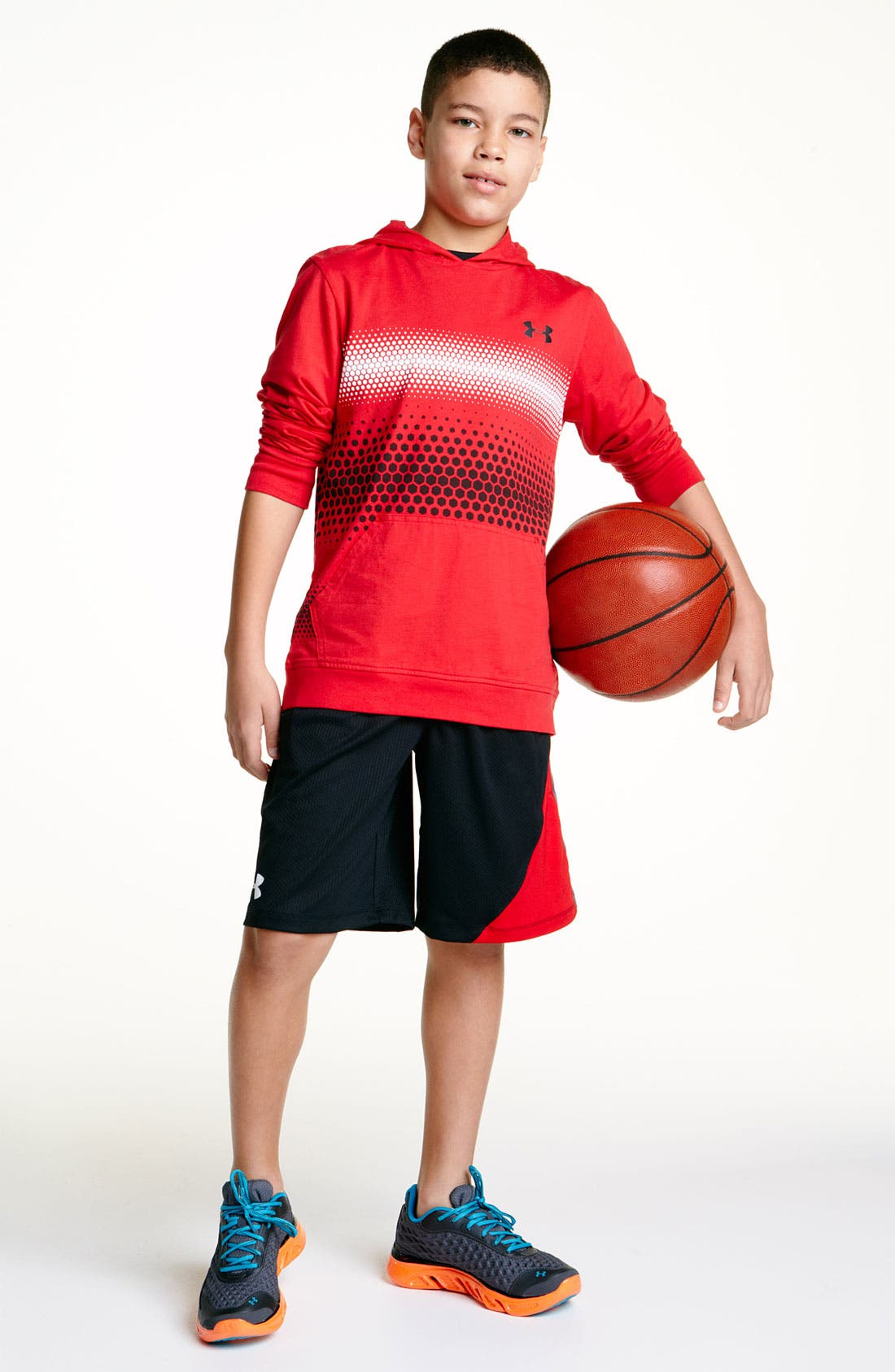 Alternate Image 2  - Under Armour 'Influencer' Shorts (Big Boys)